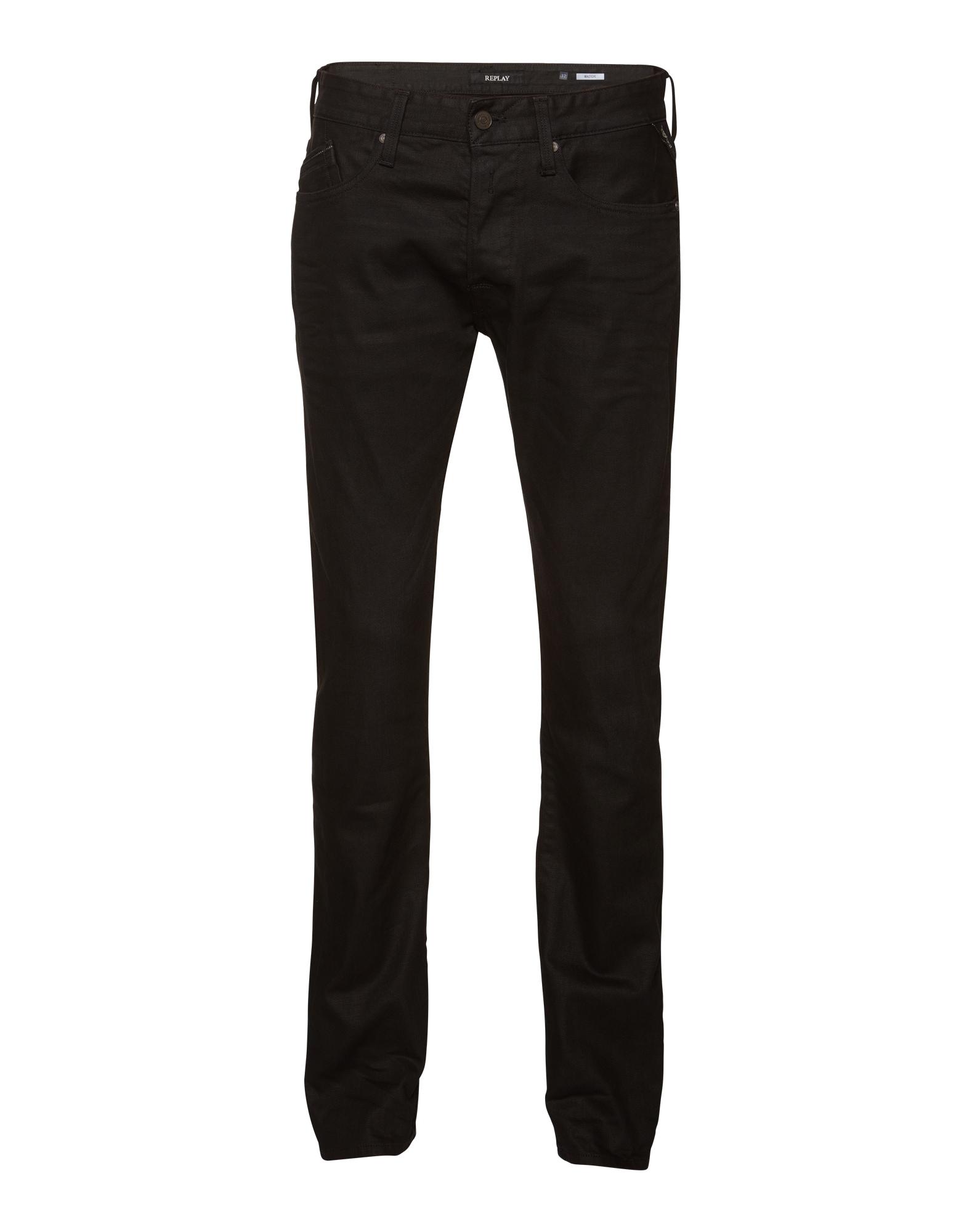 REPLAY Heren Jeans Waitom black denim