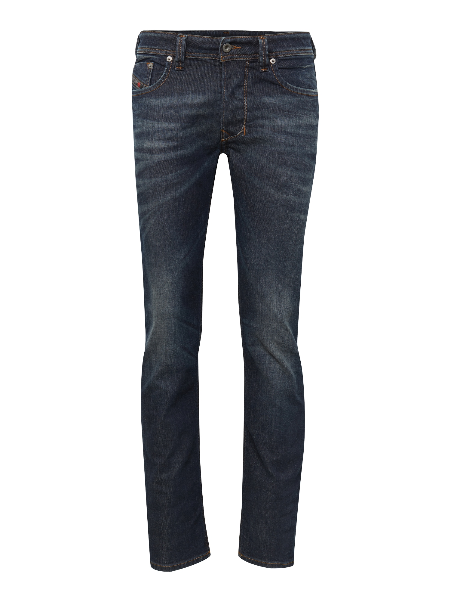 DIESEL Heren Jeans Larkee Regular Fit 853P blauw denim