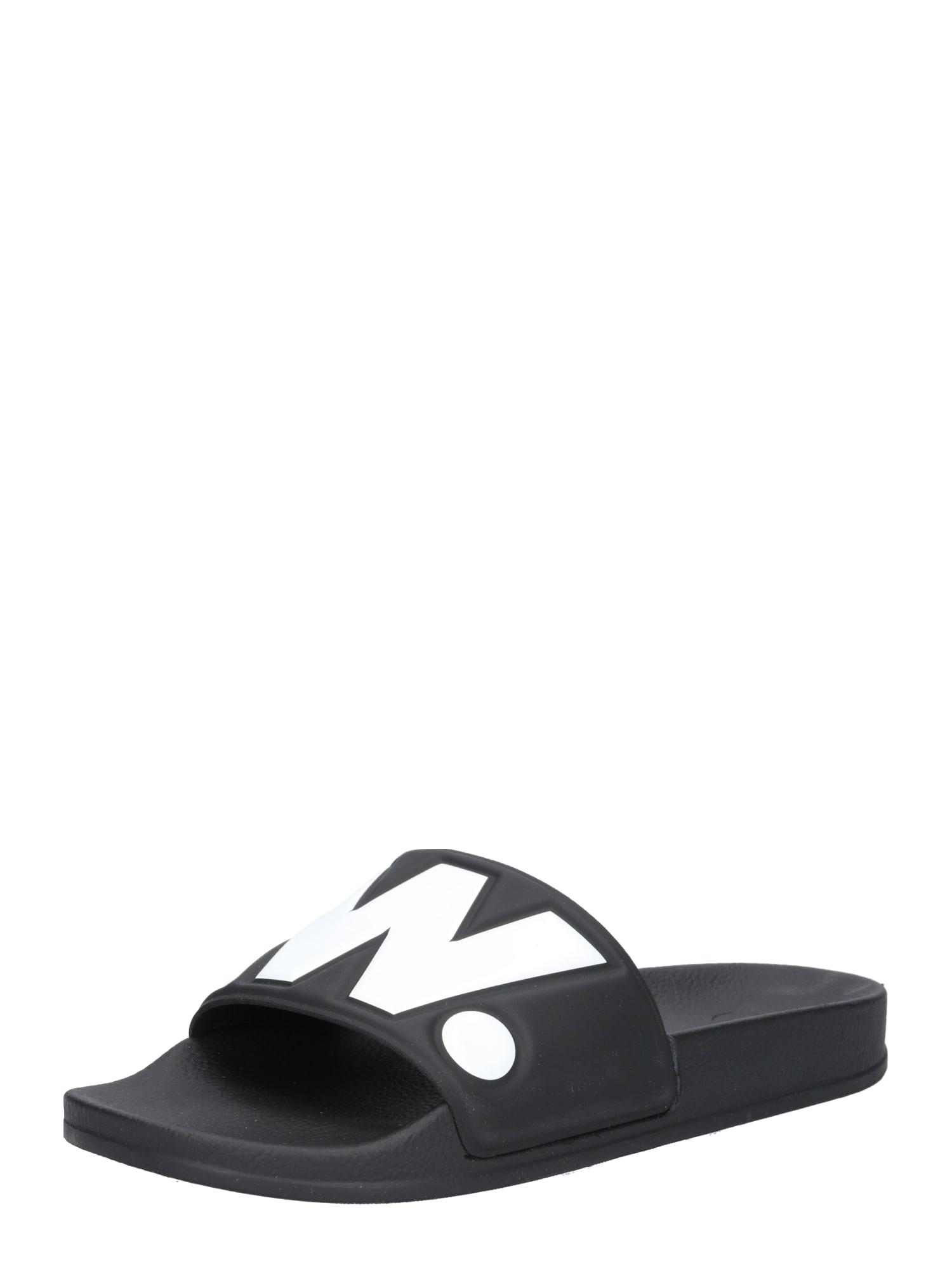 G-Star RAW Pantofle 'Cart II'  bílá / černá