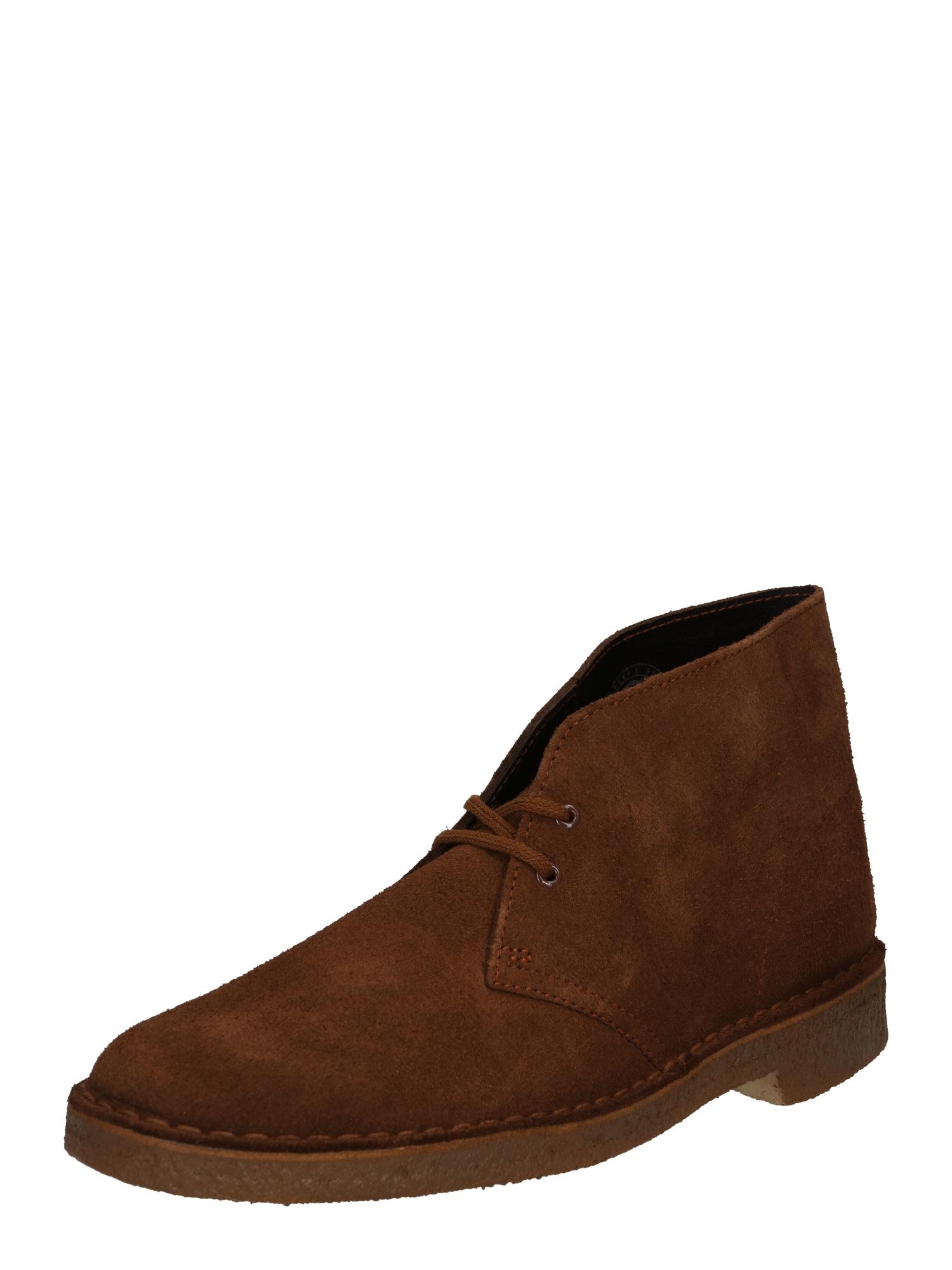 Kotníkové boty okrová Clarks Originals