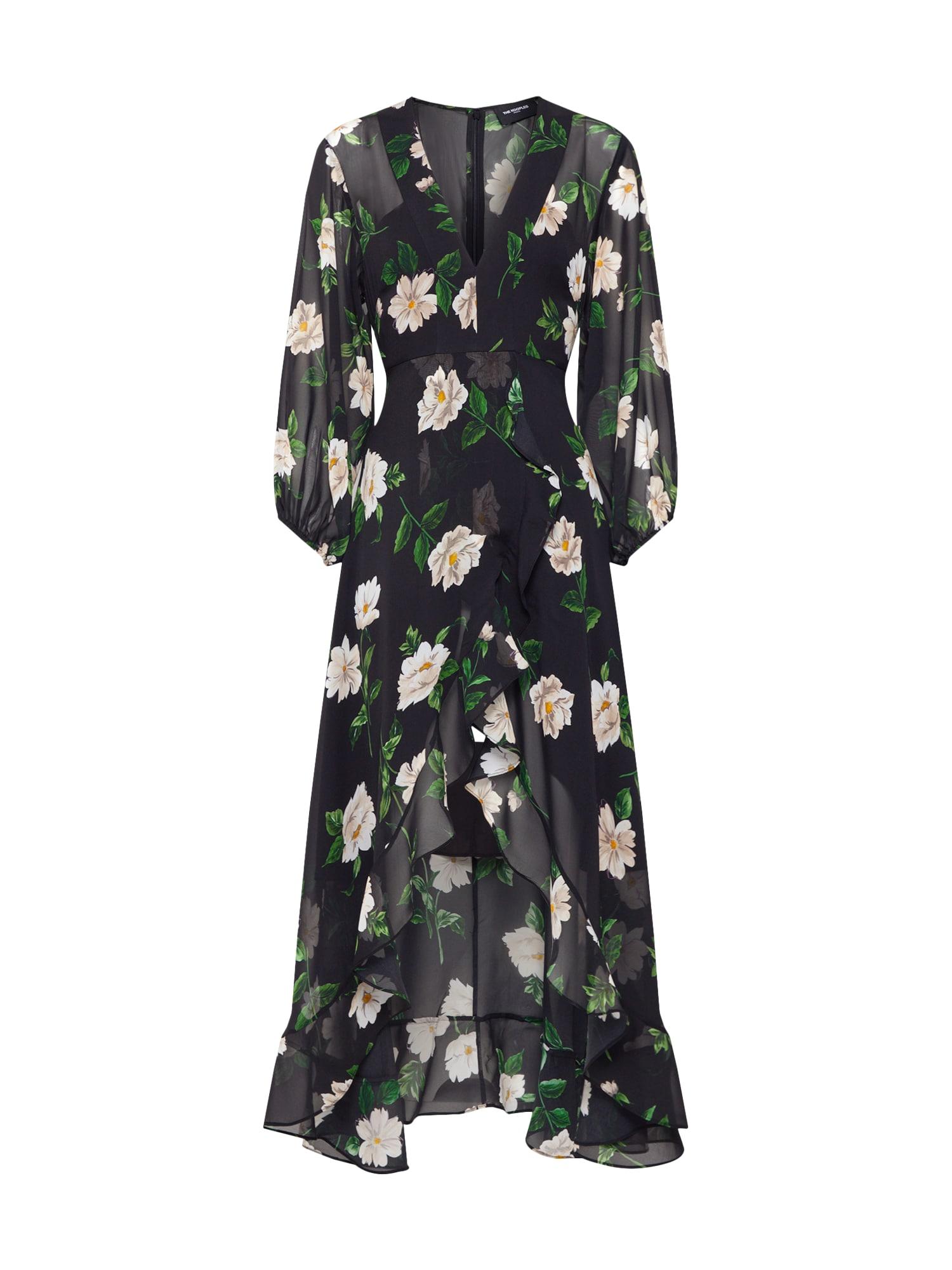 Košilové šaty FROB19016K černá The Kooples