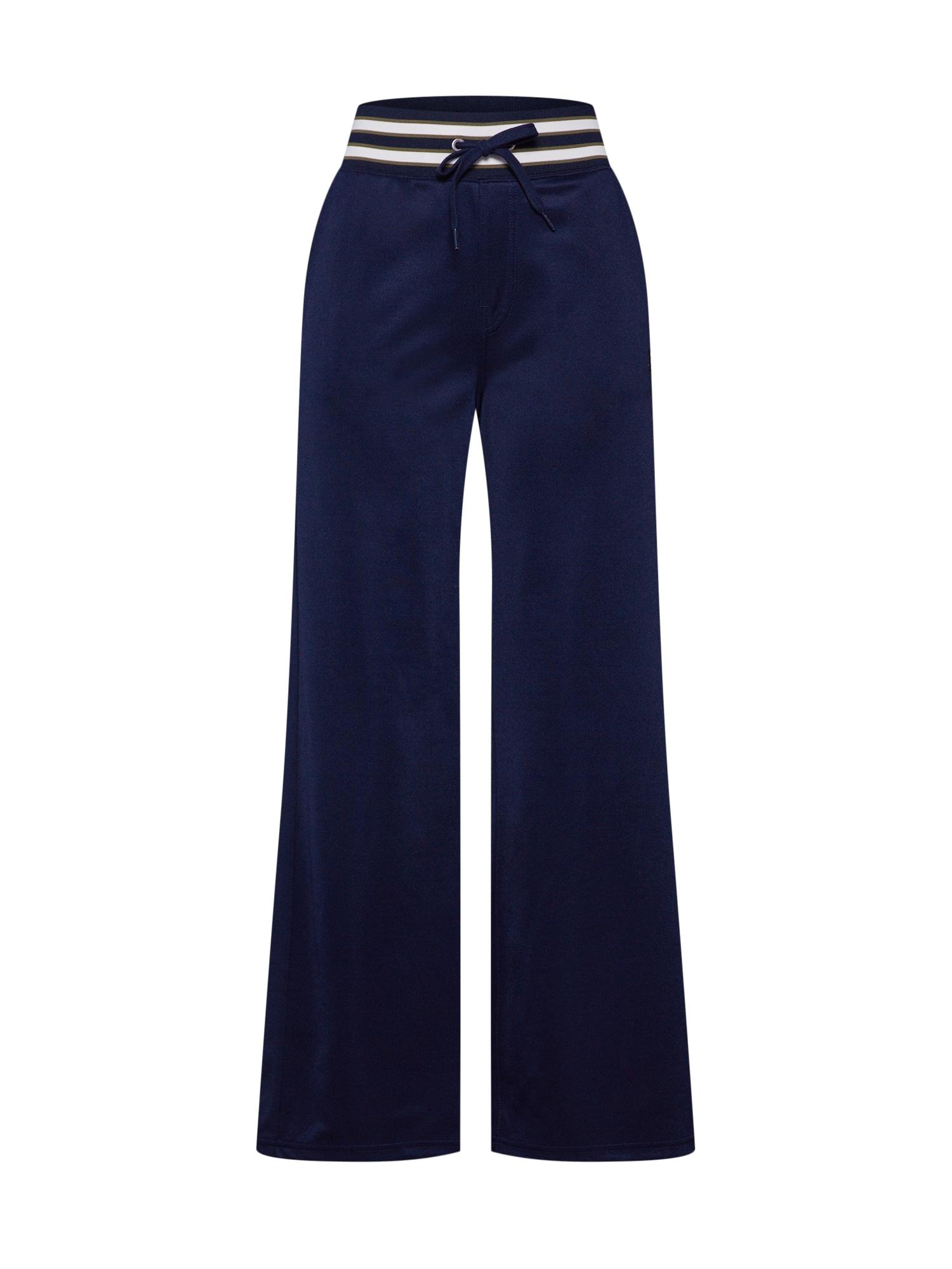 Kalhoty Lucay wide track pant wmn modrá G-STAR RAW
