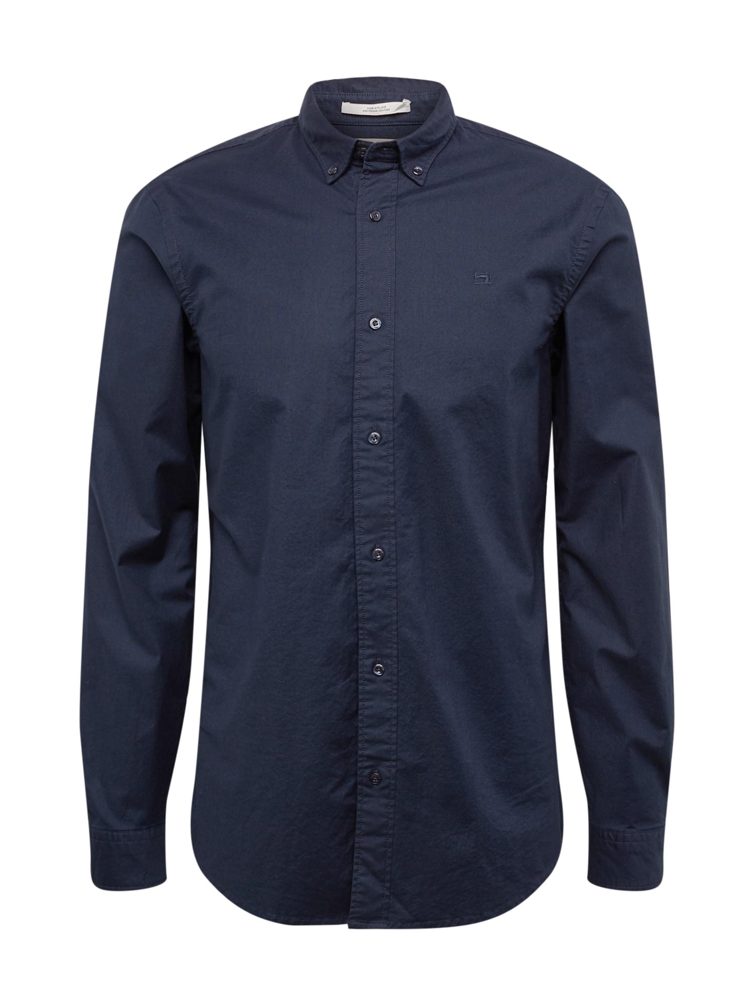 Společenská košile Oxford noční modrá SCOTCH & SODA