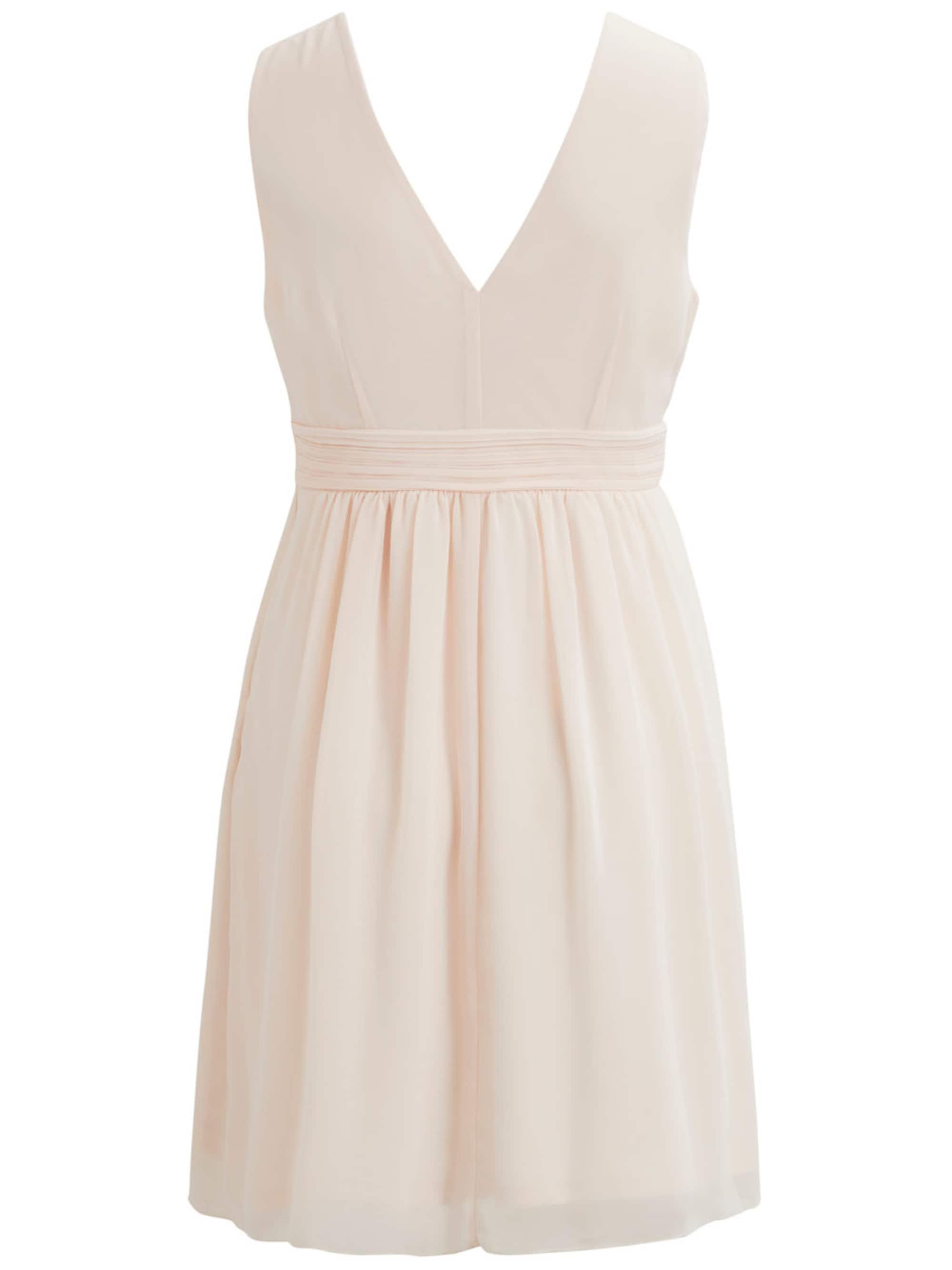 VILA Sukienka koktajlowa  brzoskwiniowy