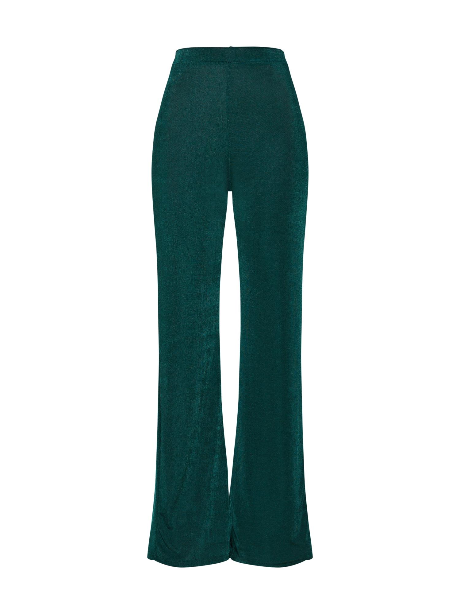 Kalhoty zelená Missguided