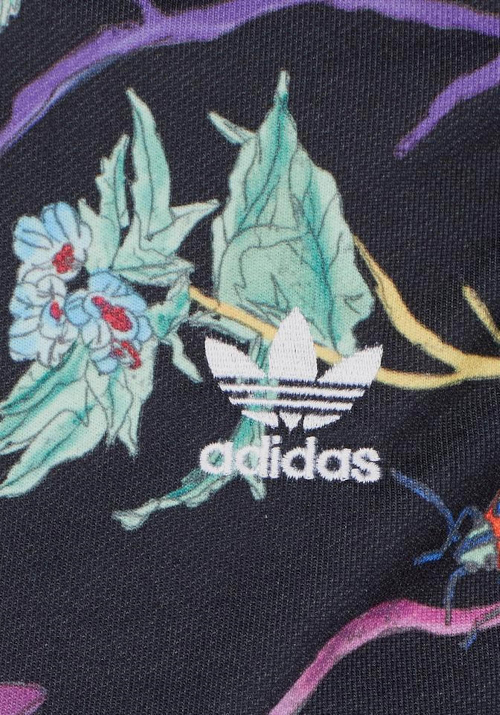 ADIDAS ORIGINALS Bluzka sportowa  czarny