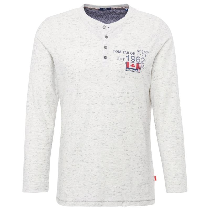 TOM TAILOR T-Shirt Shirt mit Print und Patch jetztbilligerkaufen