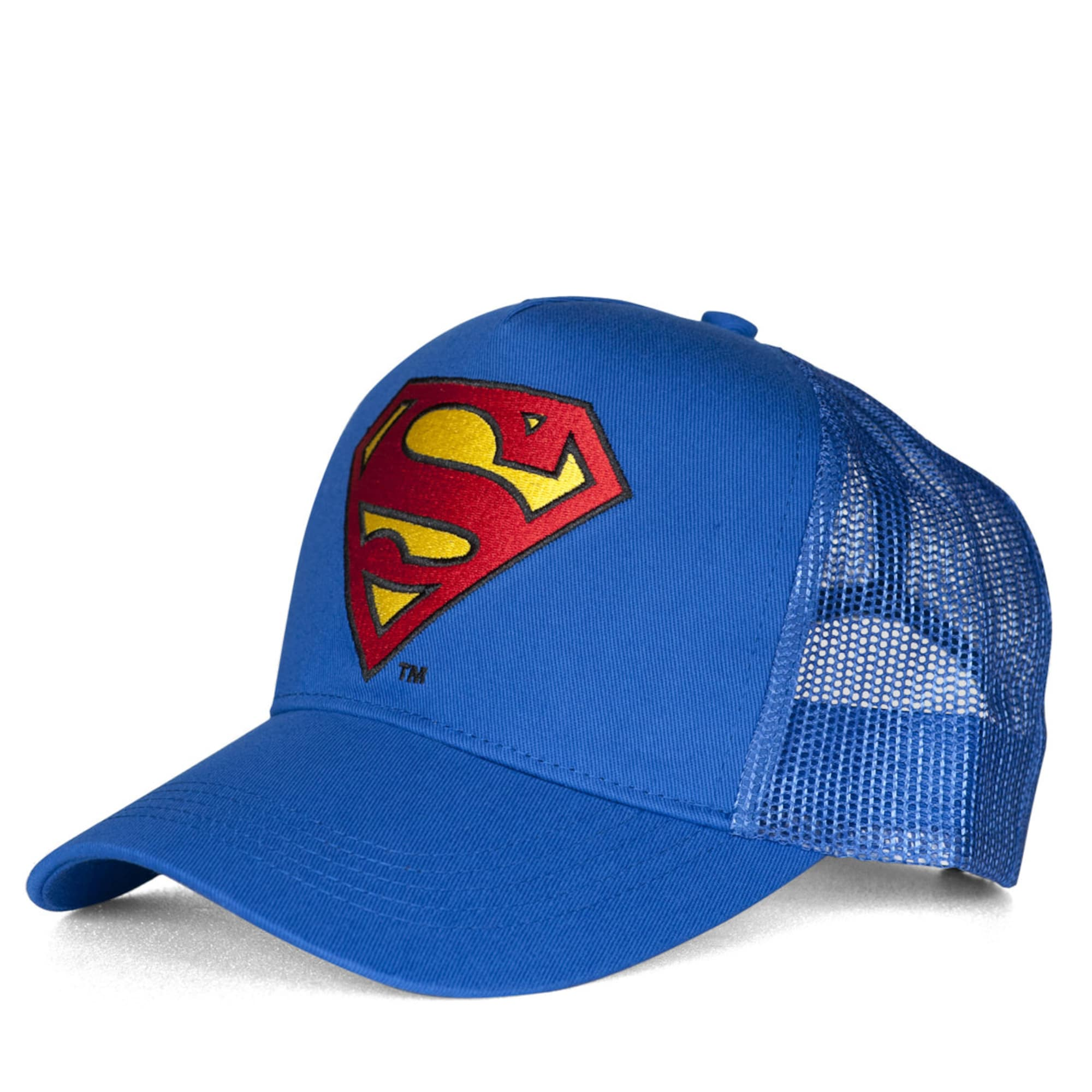 Trucker Cap 'Superman – Logo' | Accessoires > Caps > Sonstige Caps | Logoshirt