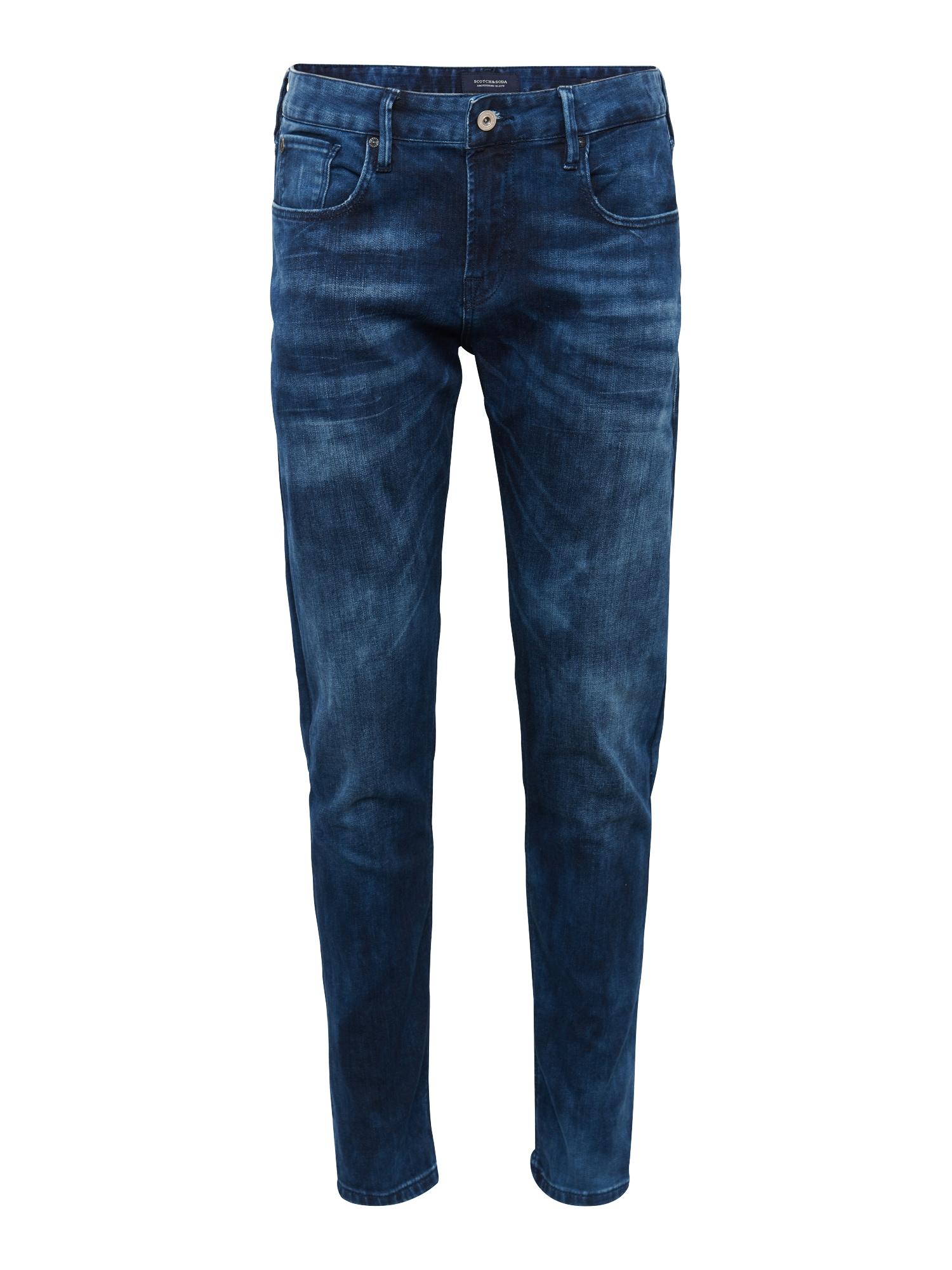 SCOTCH  and  SODA Heren Jeans Tye Blauw Flash blue denim