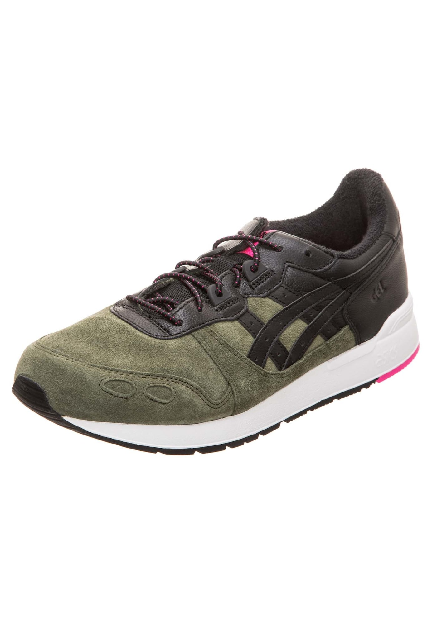 Asics Tiger, Heren Sneakers laag 'Gel-Lyte', kaki / zwart