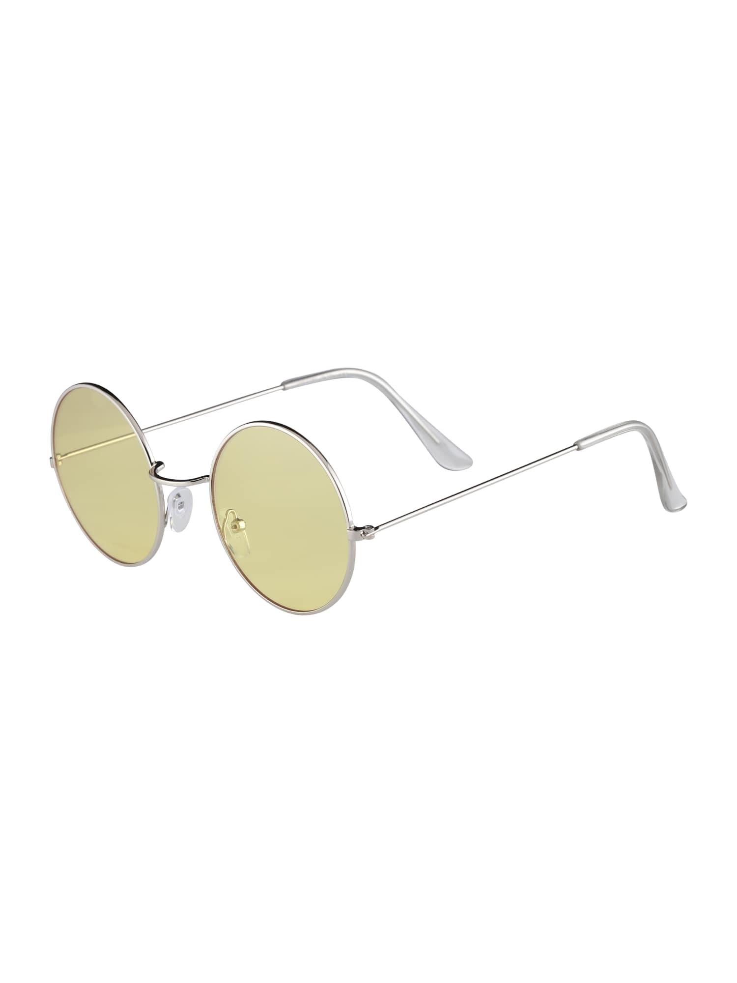 Sluneční brýle žlutá Only & Sons