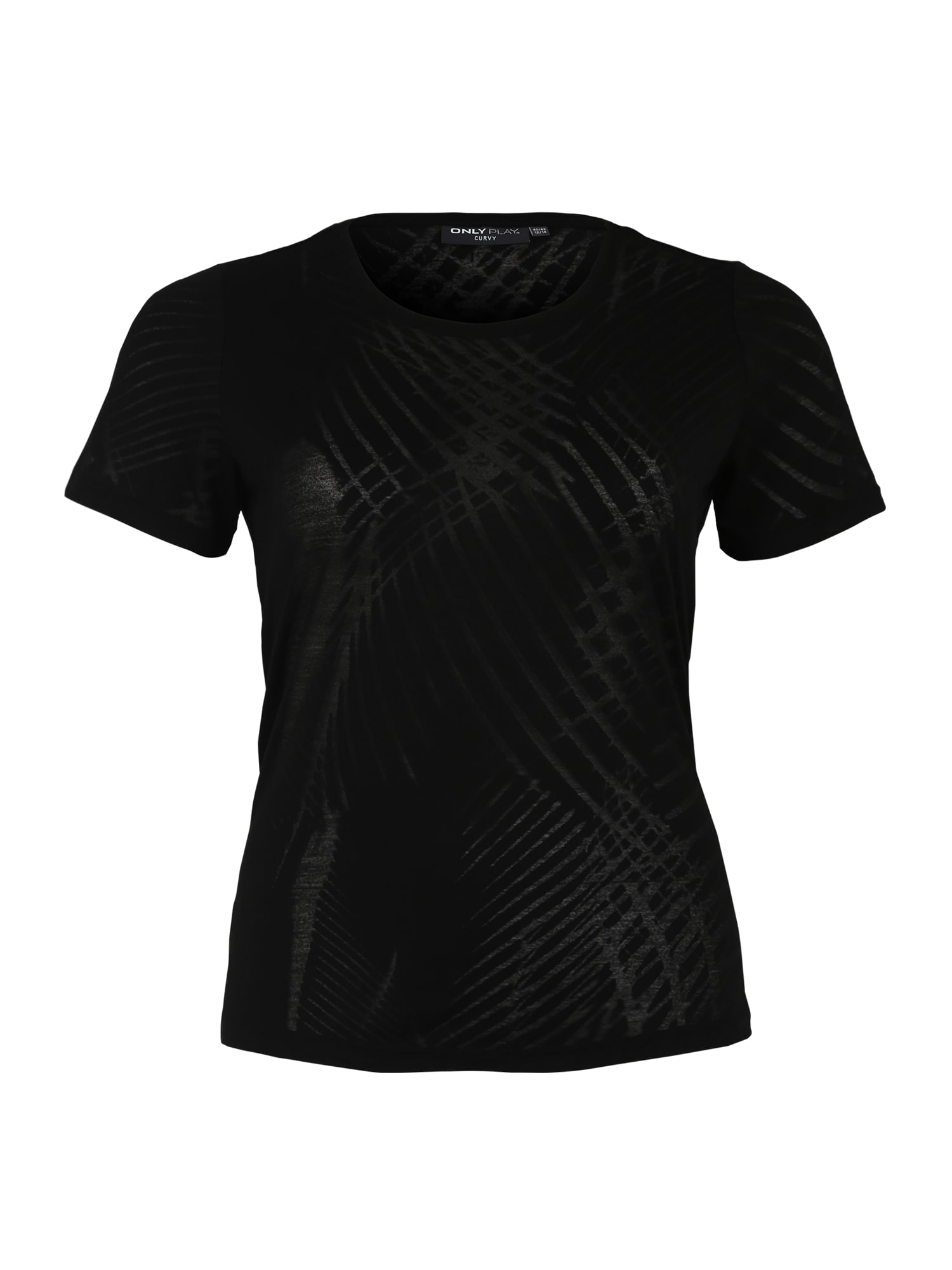 Funkční tričko onpFELICITY černá Only Play Curvy
