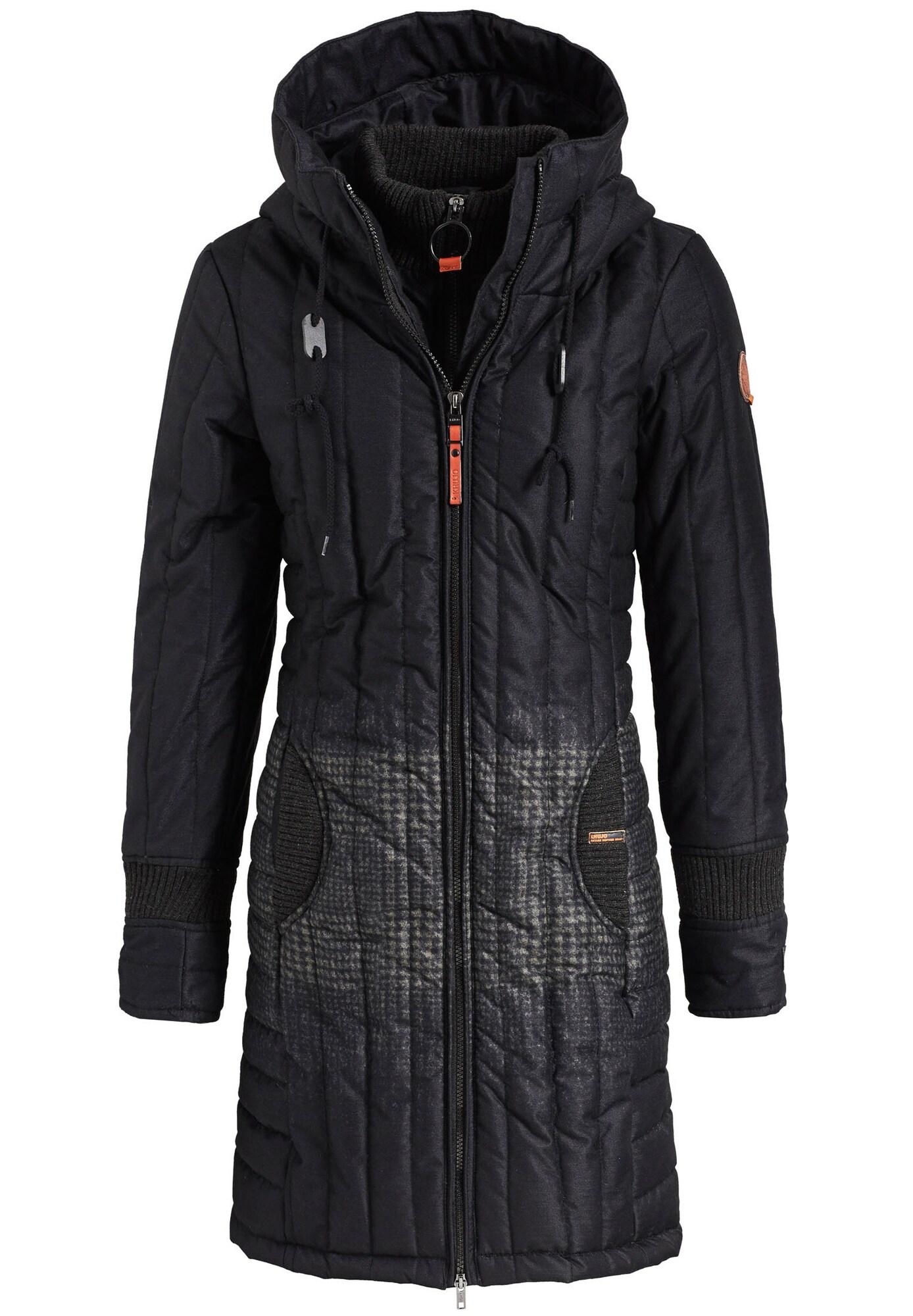 Zimní kabát JERRY PRIME2 noční modrá černá Khujo
