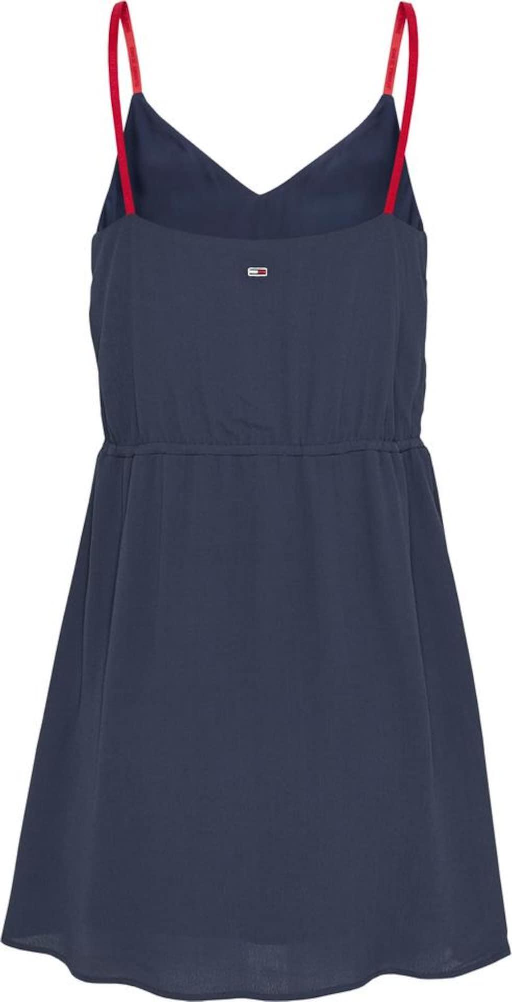Tommy Jeans Letní šaty  námořnická modř