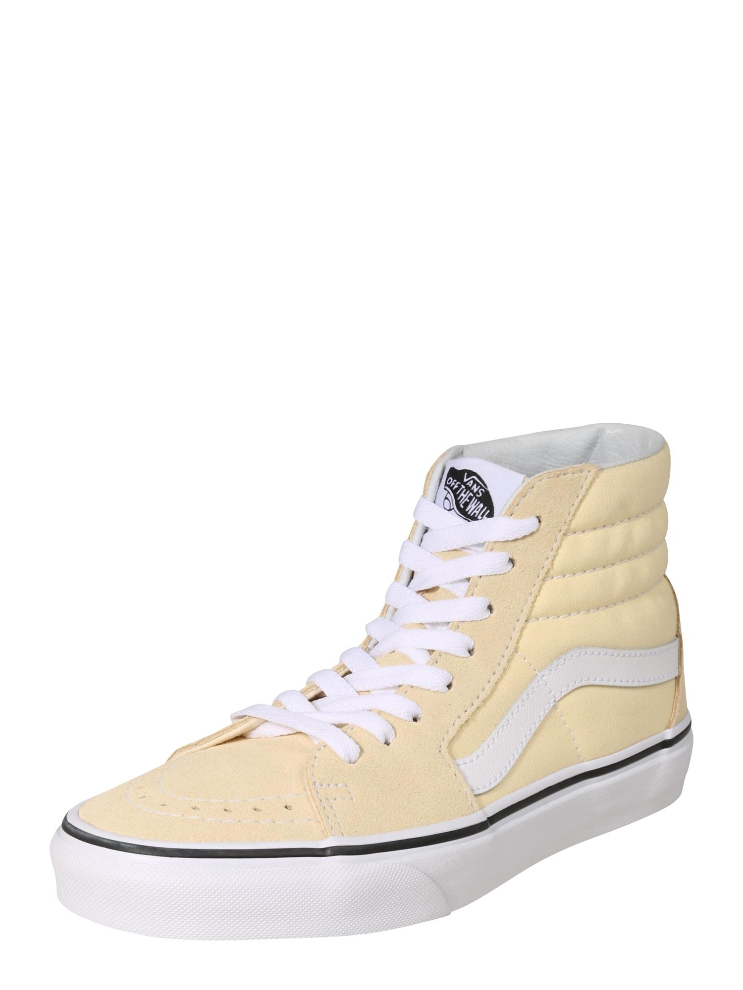 VANS, Dames Sneakers hoog 'UA SK8-Hi', lichtgeel