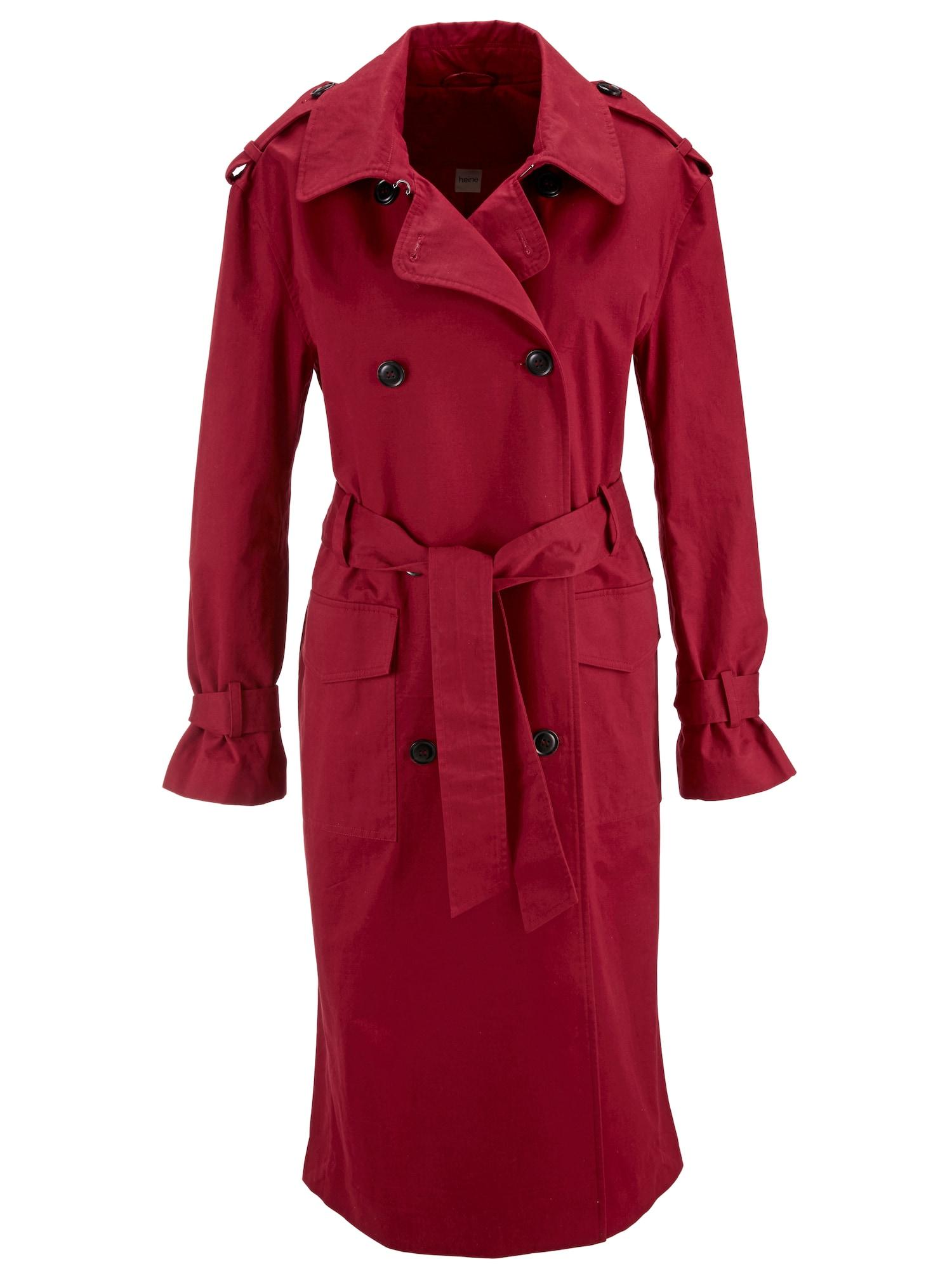Přechodný kabát hnědá červená Heine