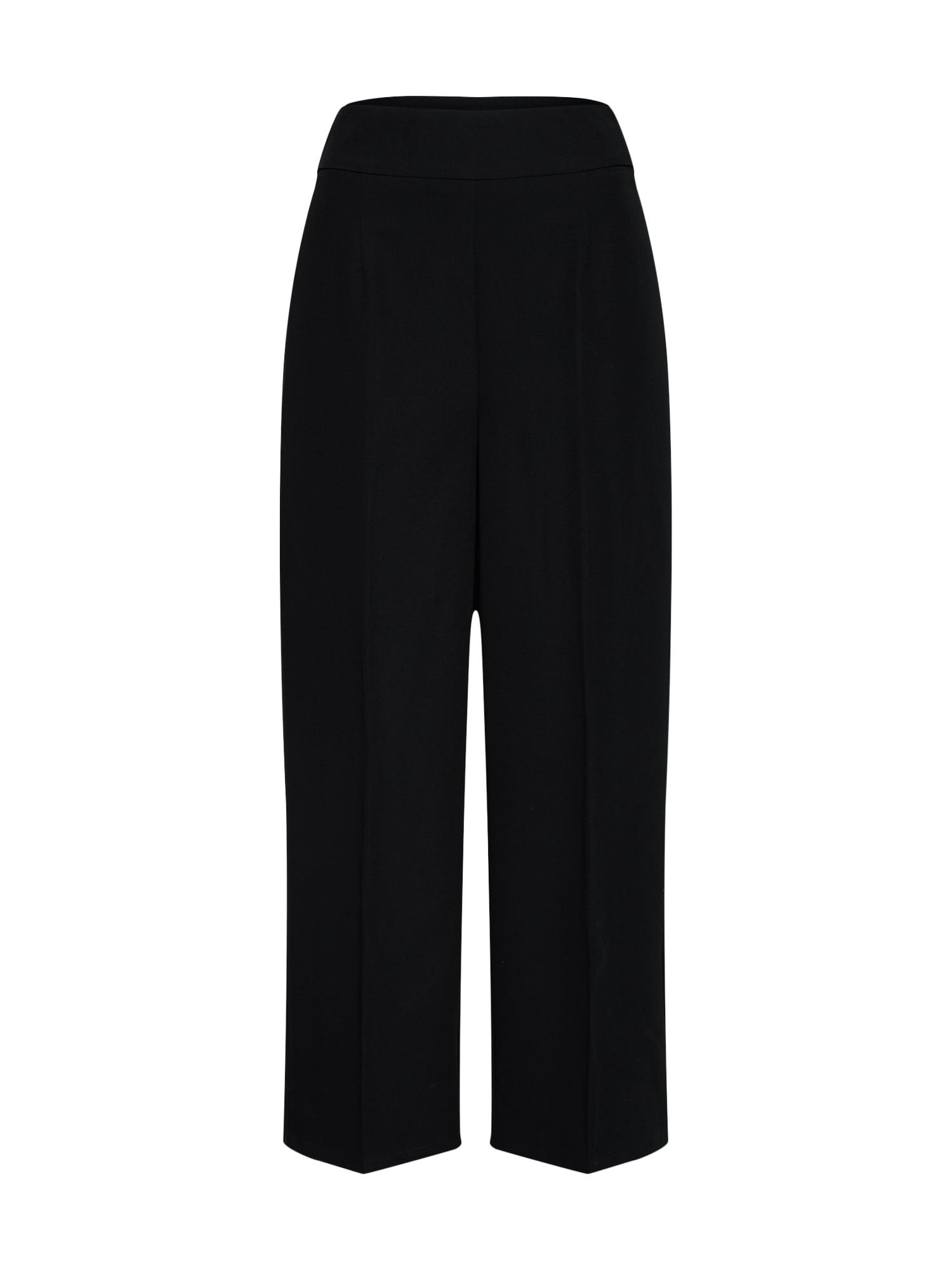 Kalhoty VICONELLA HW černá VILA