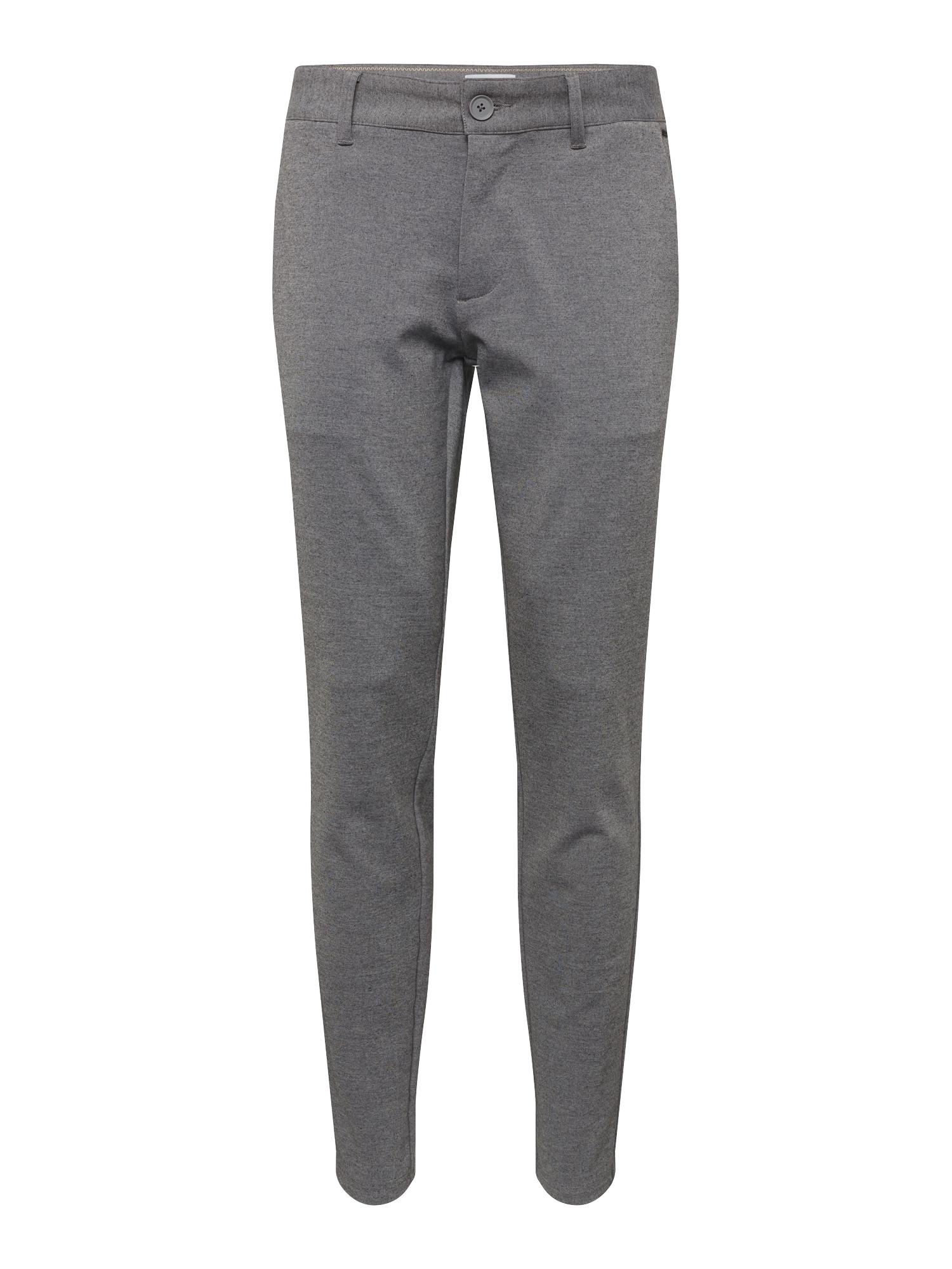 Chino kalhoty onsMARK PANT GW 0209 NOOS šedý melír Only & Sons