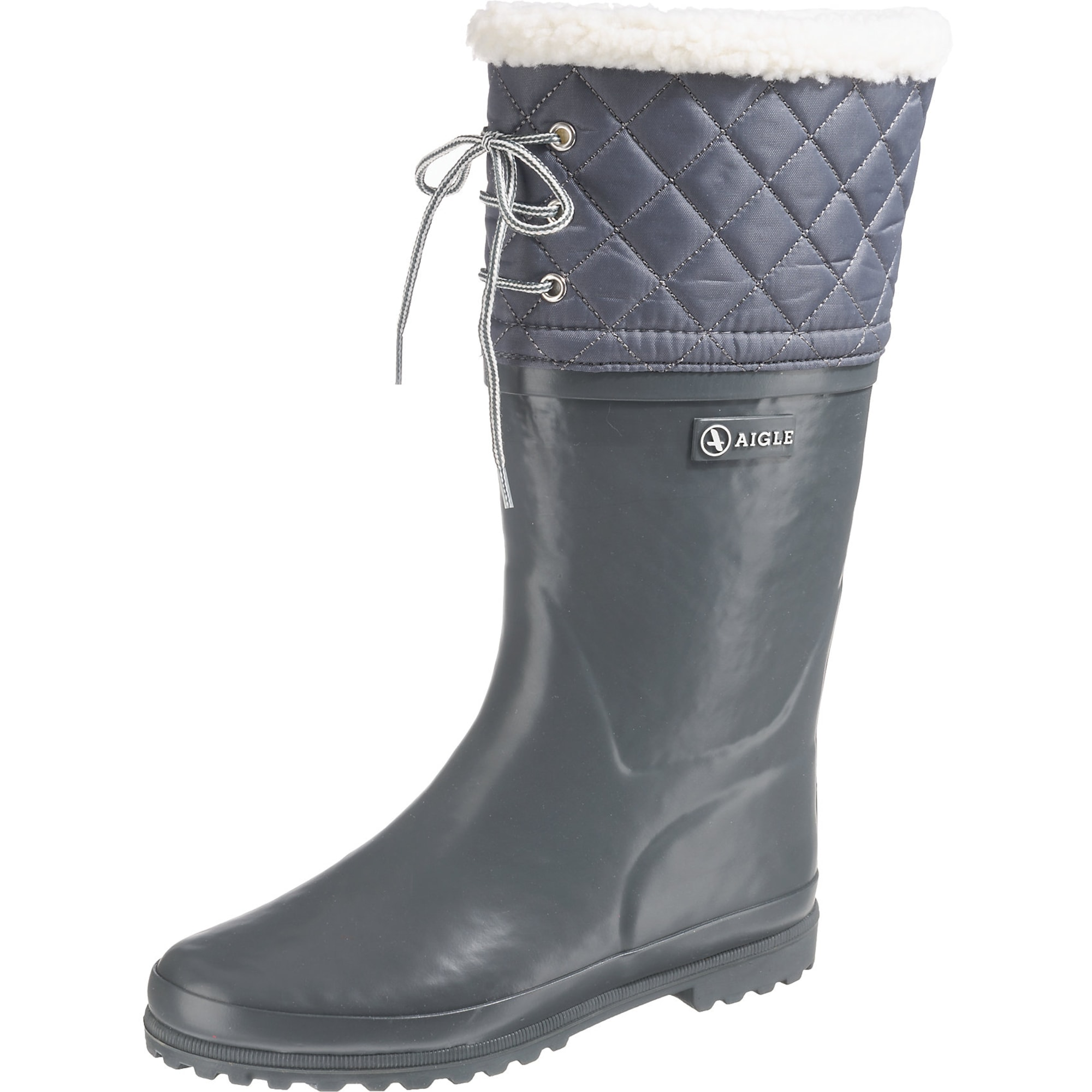 Gummistiefel 'POLKA GIBOULÉE'   Schuhe > Gummistiefel   Grau   Aigle