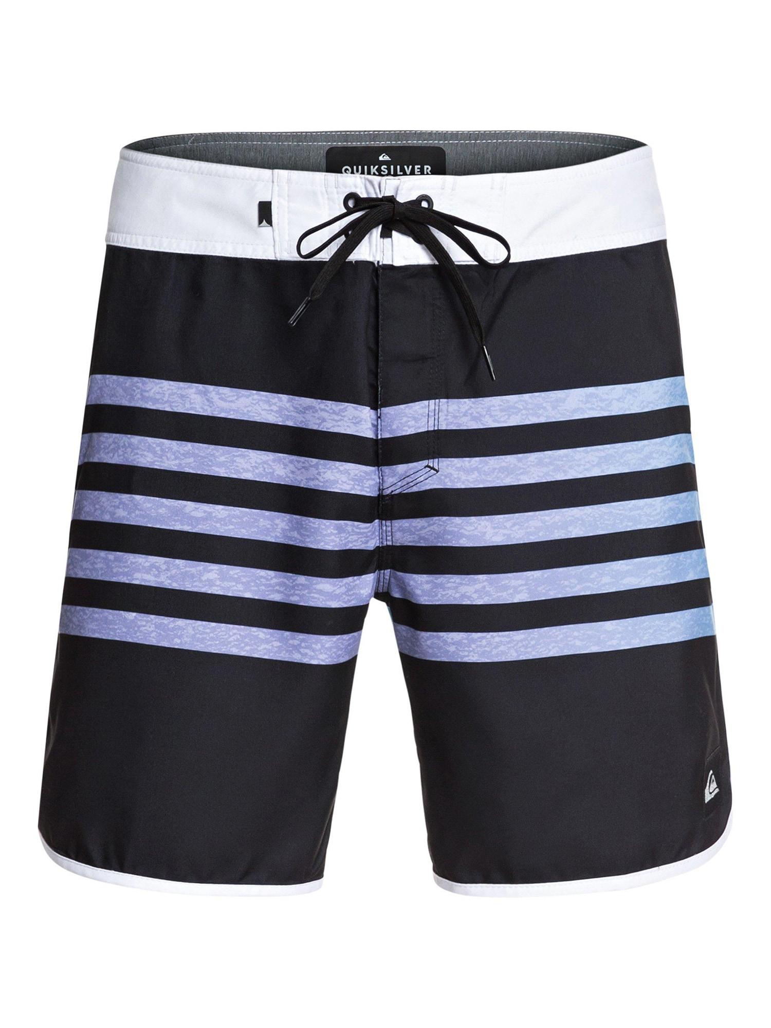 Sportovní plavky EVERYDAY GRASS ROOTS 17 modrá černá bílá QUIKSILVER