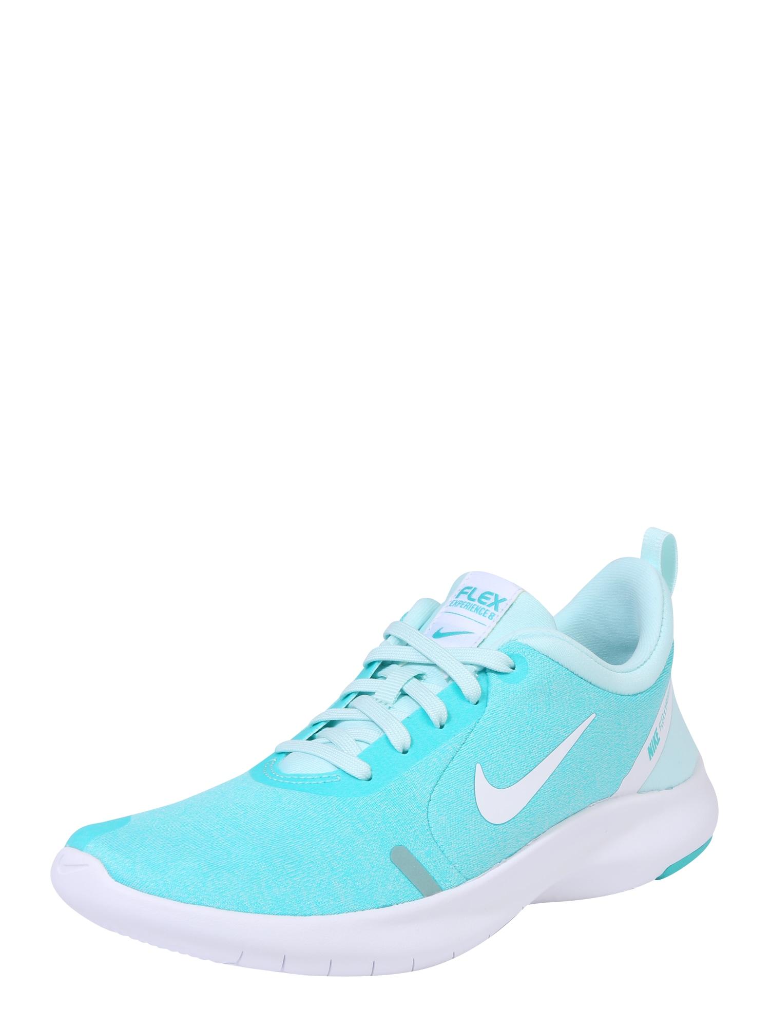 Sportovní boty Nike Flex Experience RN 8 tyrkysová bílá NIKE