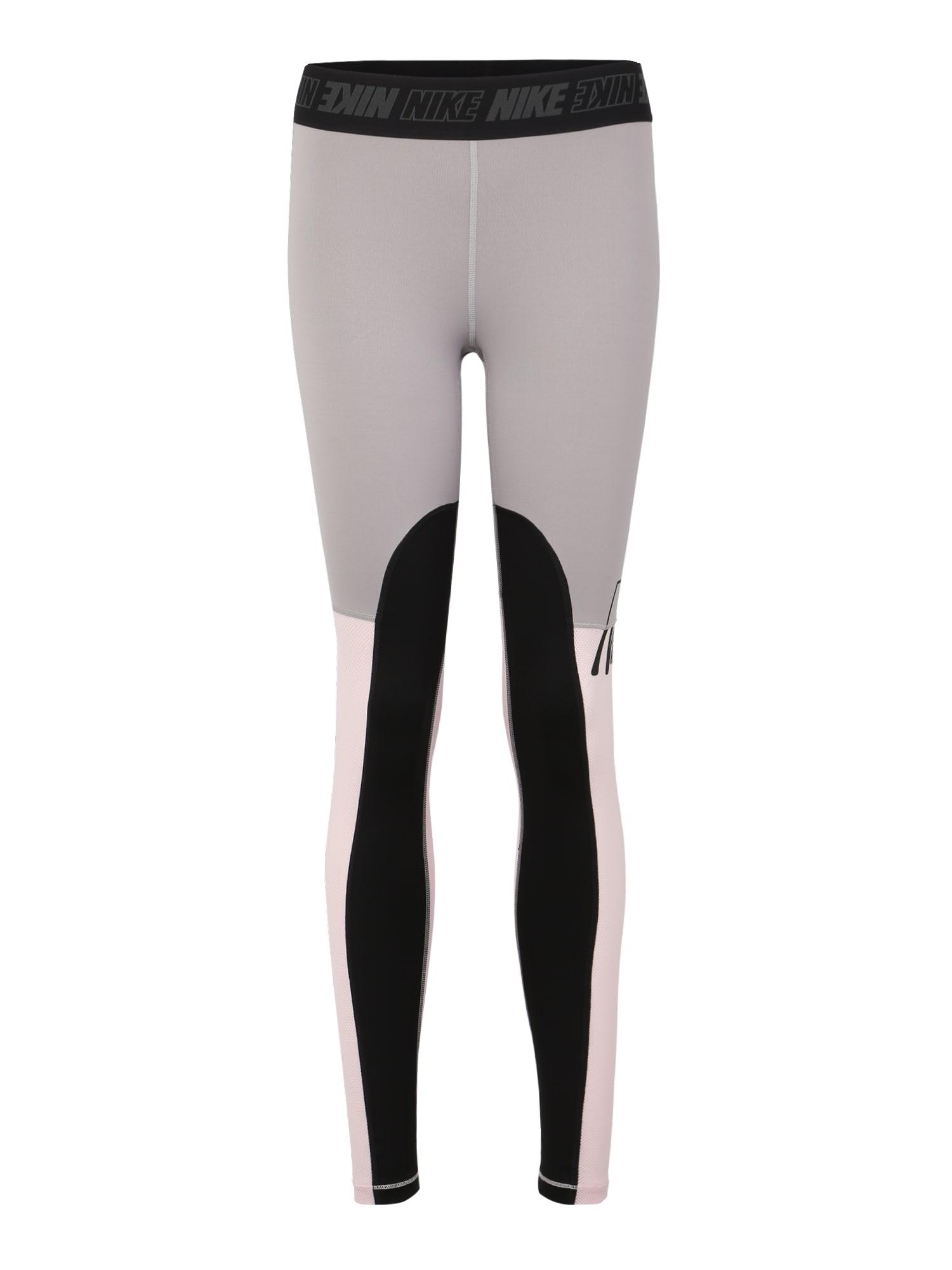 Sportovní kalhoty W NK VCTY SPRT DSTRT TGHT šedá růžová černá NIKE