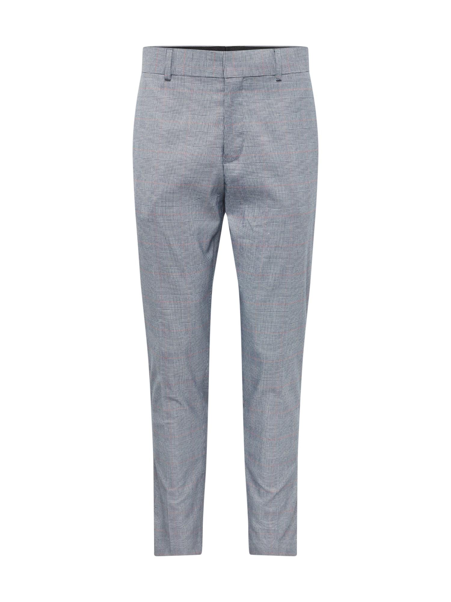 Kalhoty GERHARD šedá černá bílá Only & Sons