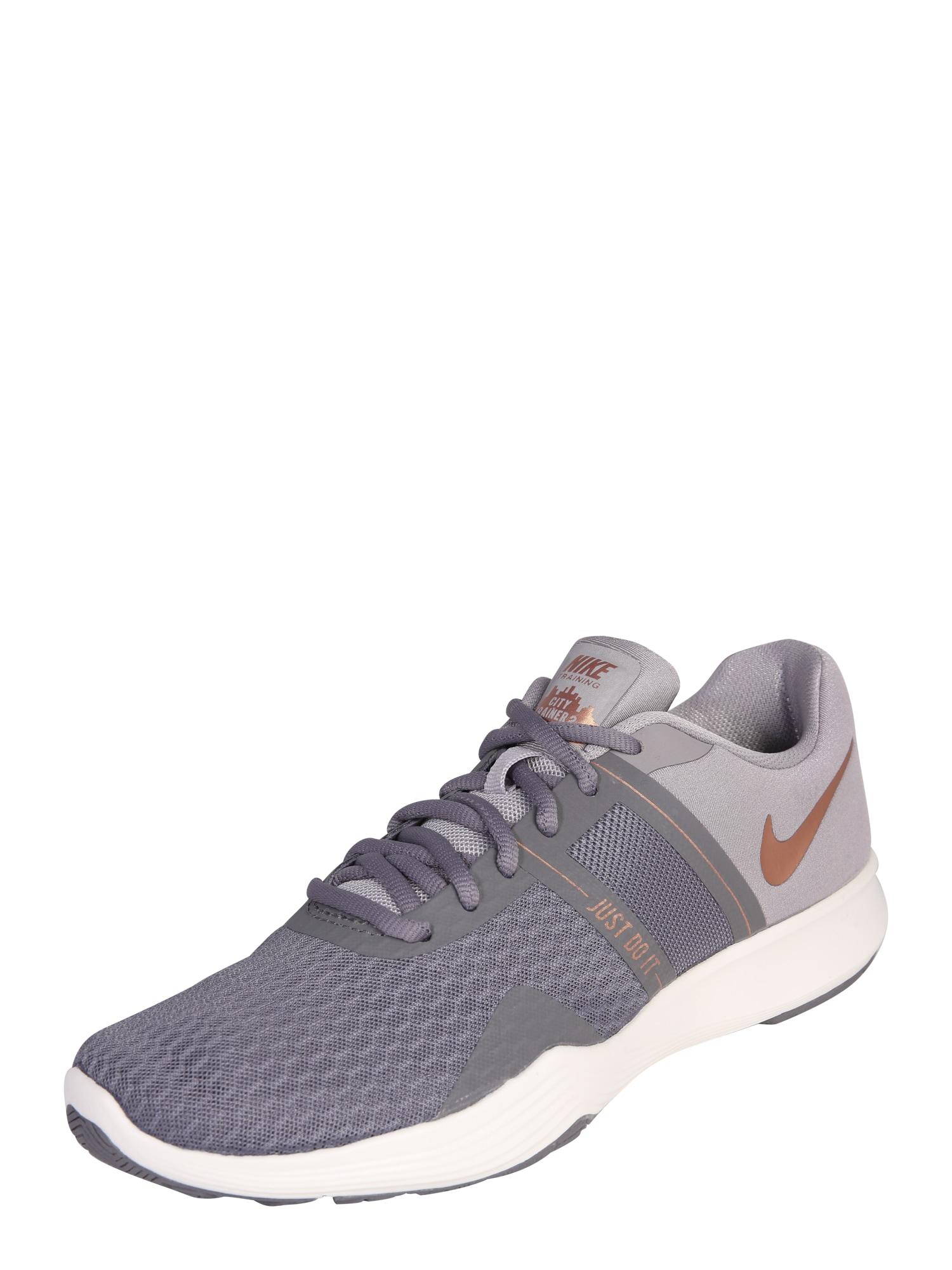 Sportovní boty City Trainer 2 fialová NIKE