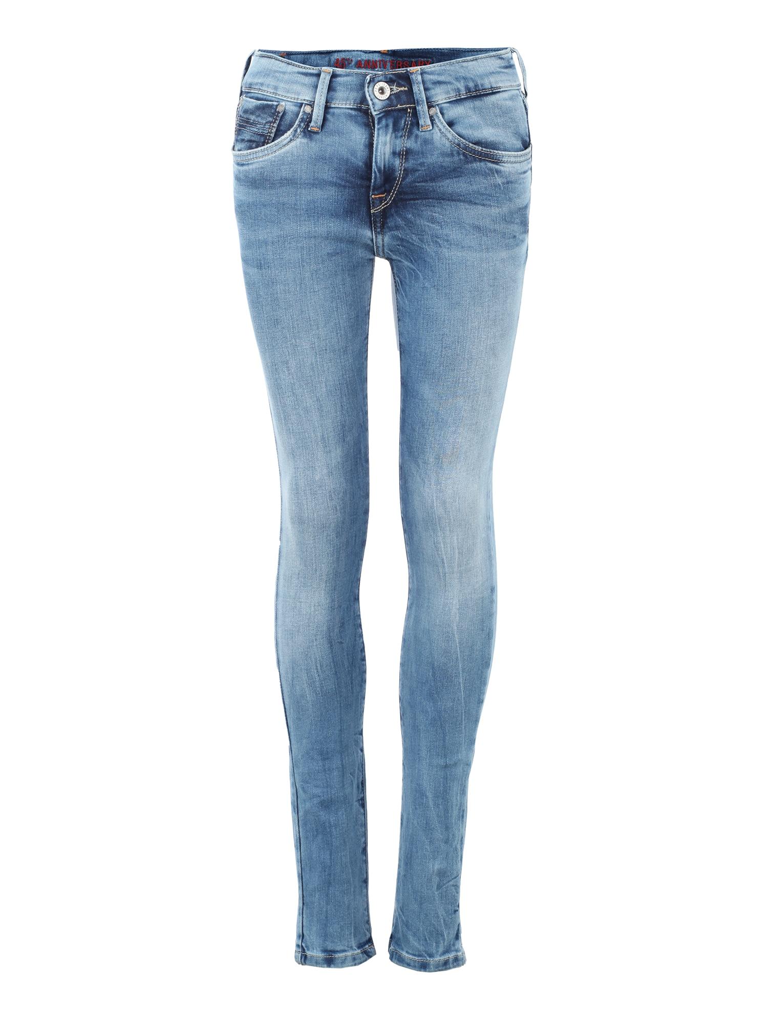 Pepe Jeans Meisjes Jeans PIXLETTE 45YRS blue denim