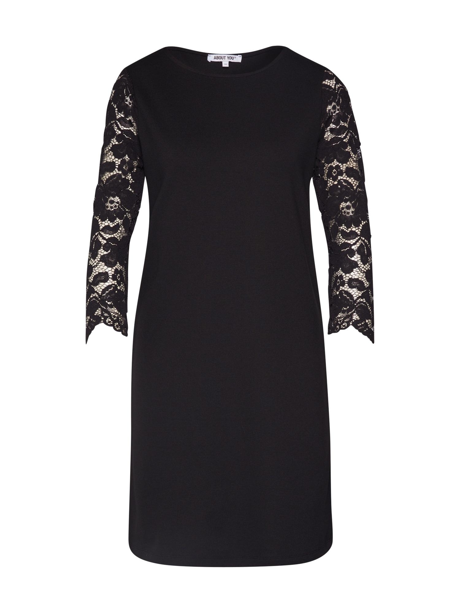 ABOUT YOU Kokteilové šaty 'Hedda'  čierna