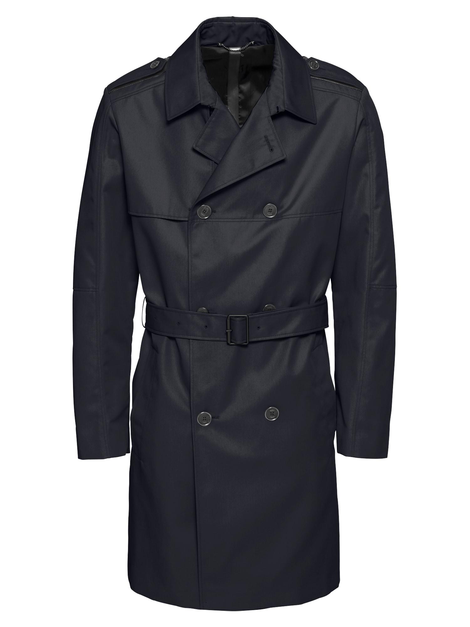 Přechodný kabát Maxido1911 10110503 01 tmavě modrá HUGO