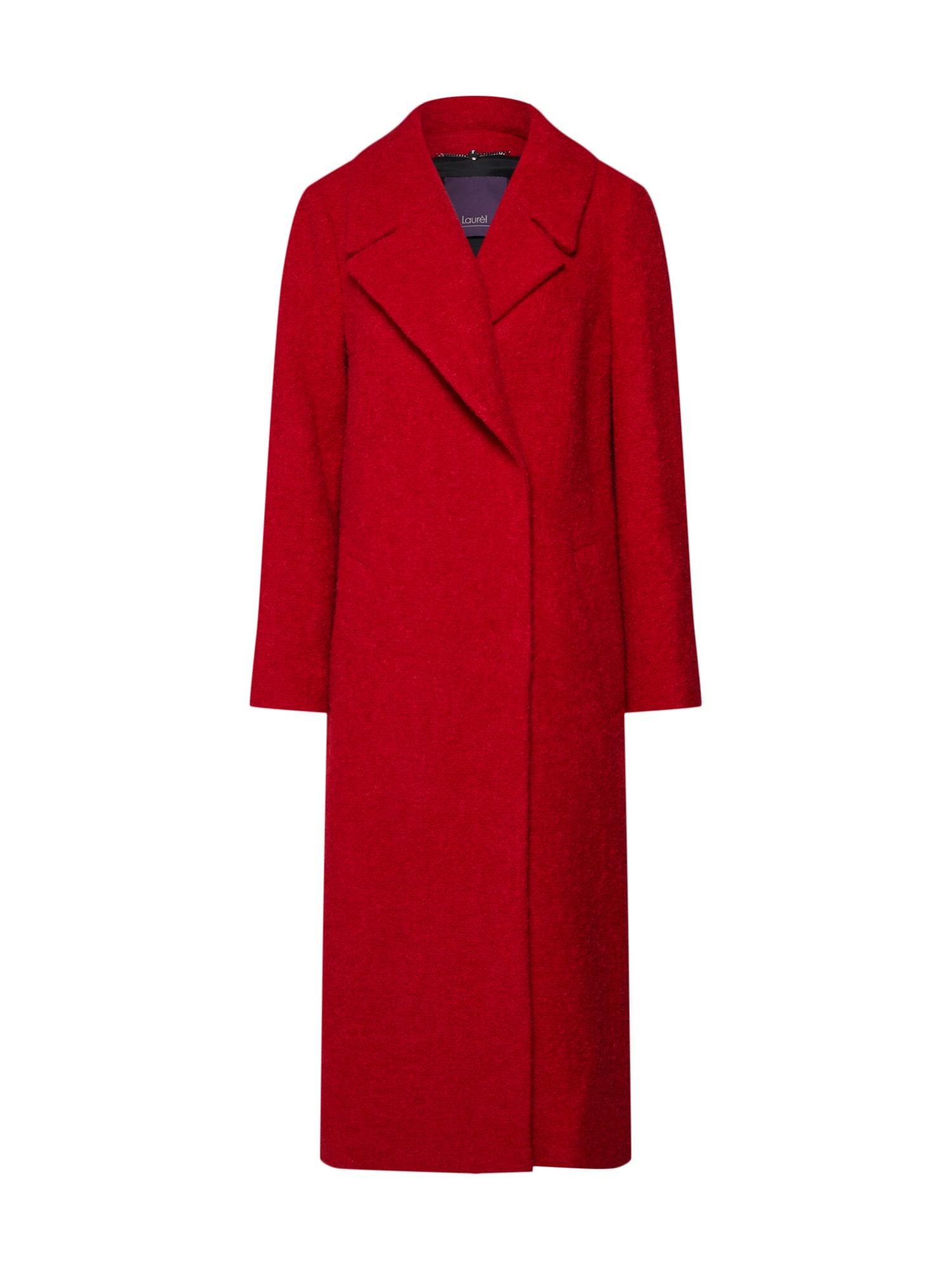 Zimní kabát 92032 červená LAUREL