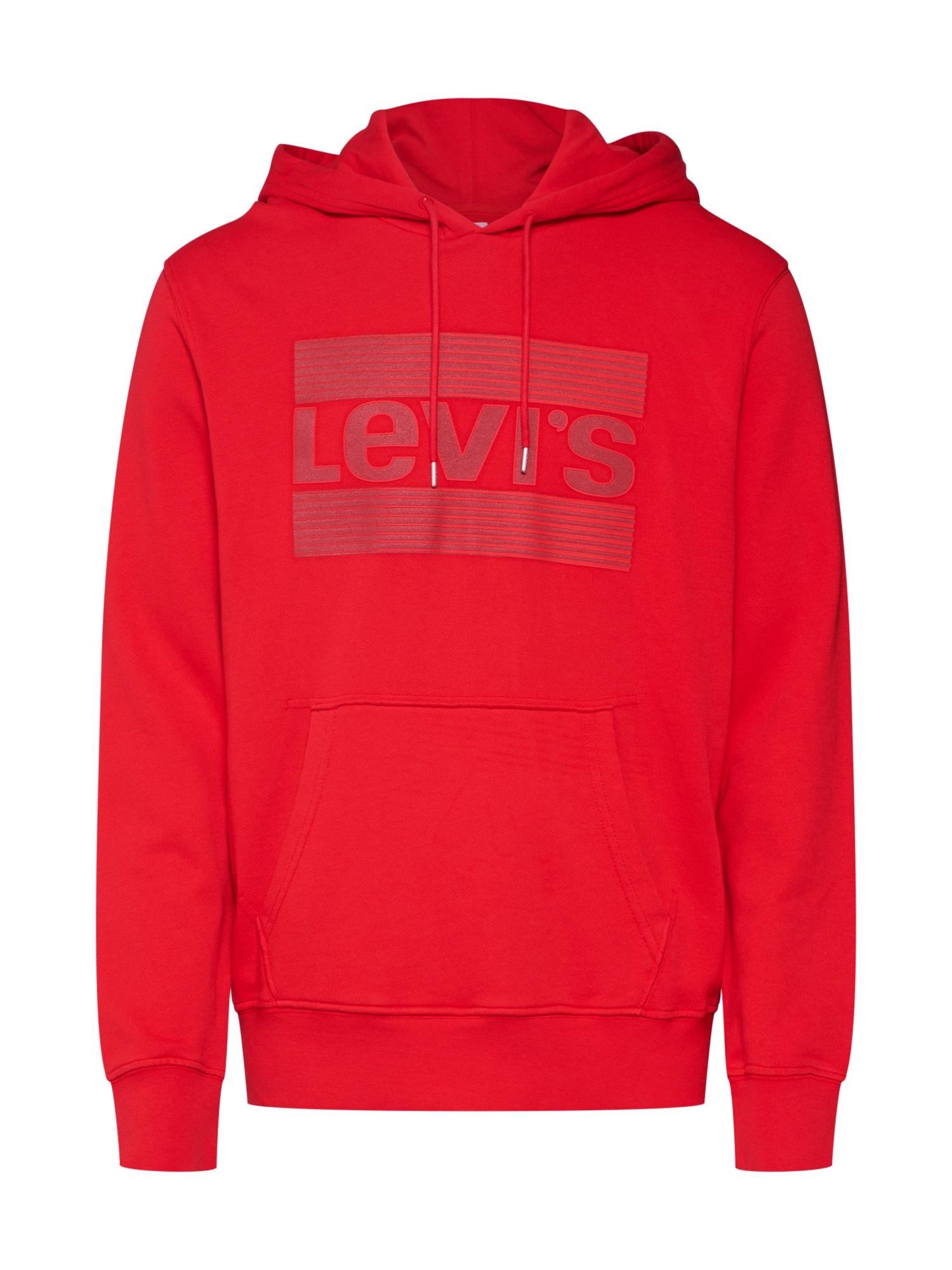 LEVIS Mikina červená LEVI'S
