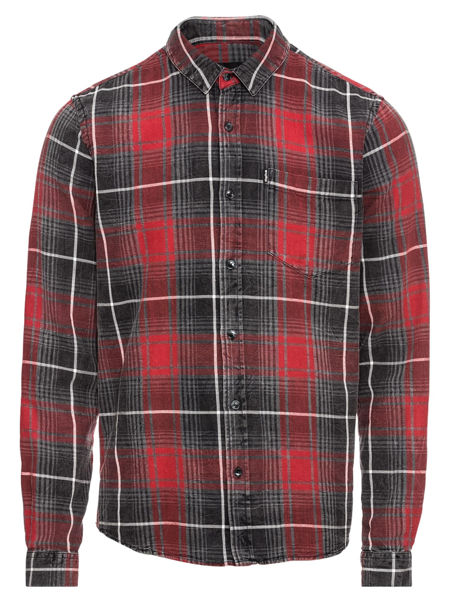 Košile Namir červená černá Tigha