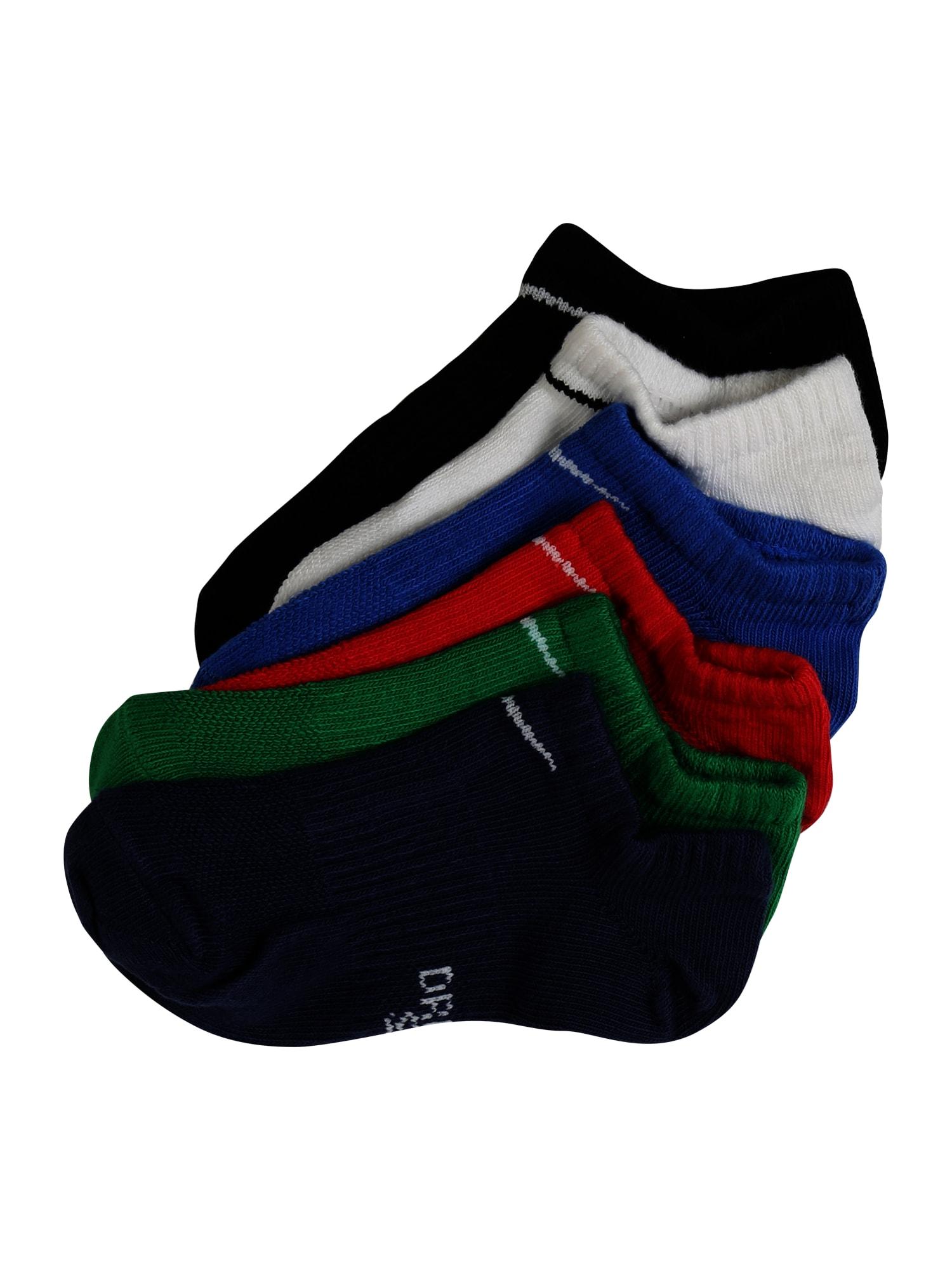 Ponožky modrá zelená červená černá bílá NIKE