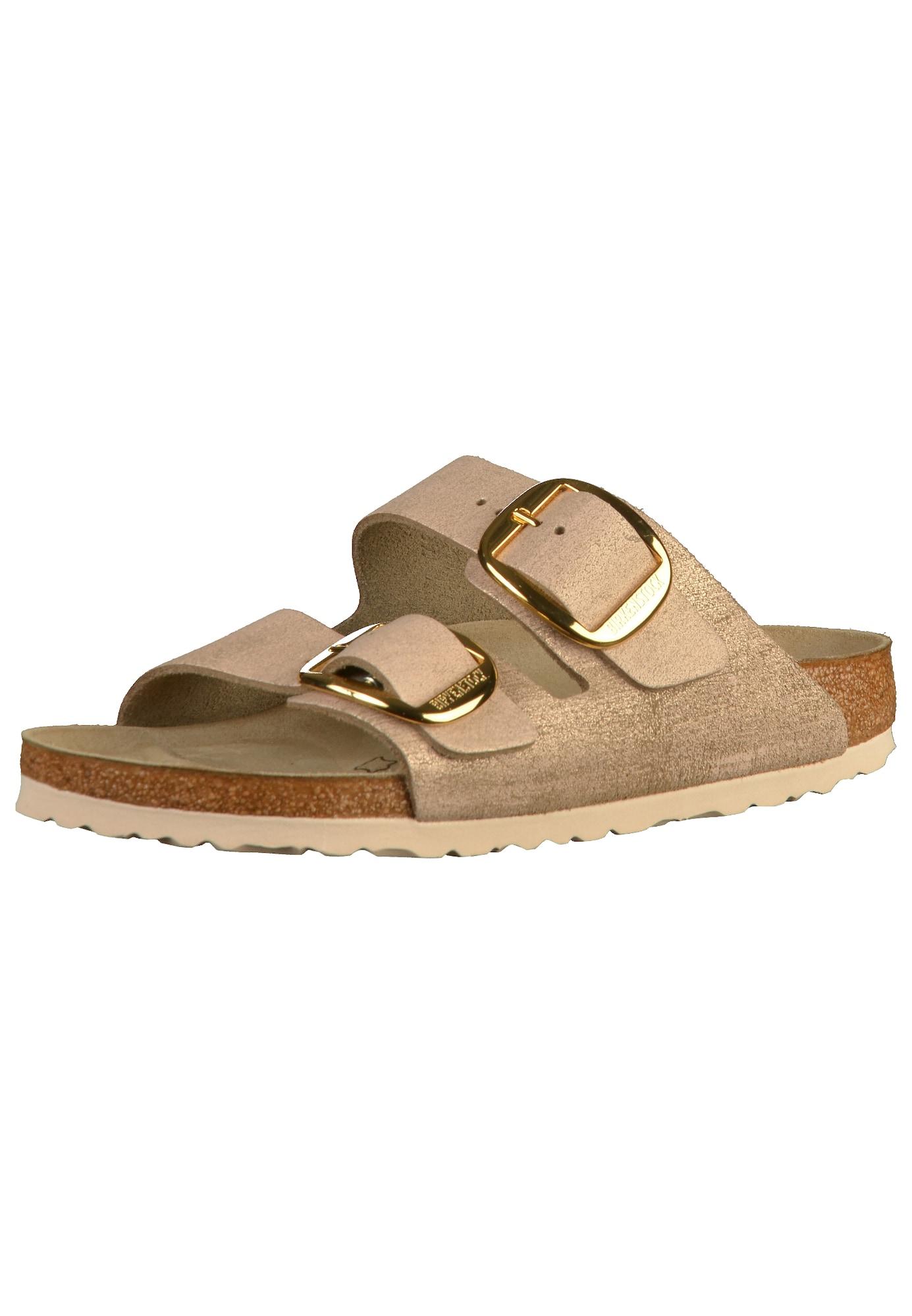 Pantofle Arizona BB pudrová BIRKENSTOCK