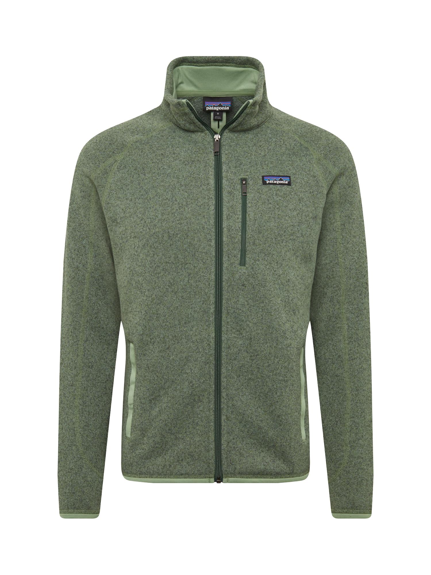 Funkční fleecová mikina Ms Better Sweater tmavě zelená PATAGONIA