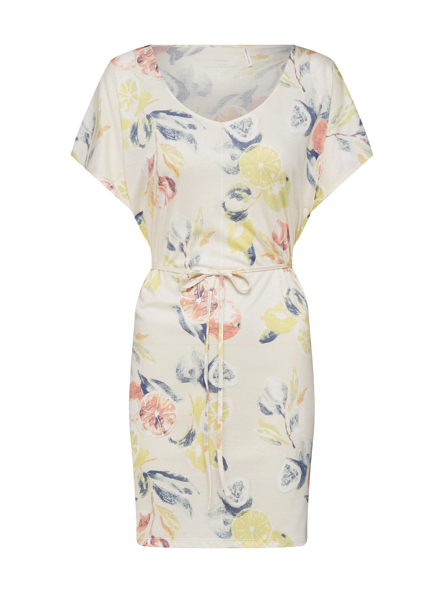 Noční košilka Favourites Trend 8 béžová světle žlutá růžová CALIDA