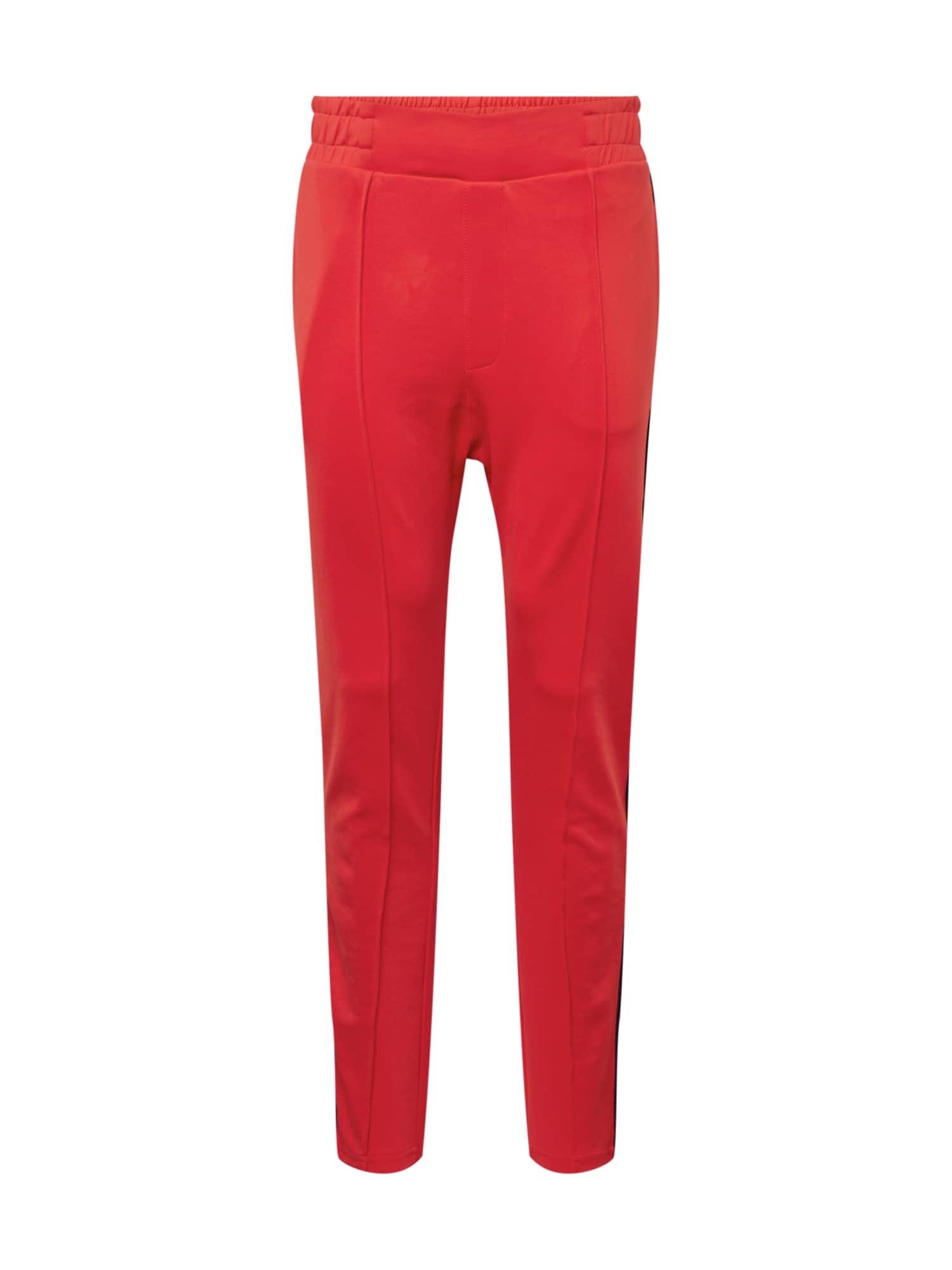 TOM TAILOR DENIM Kalhoty  červená