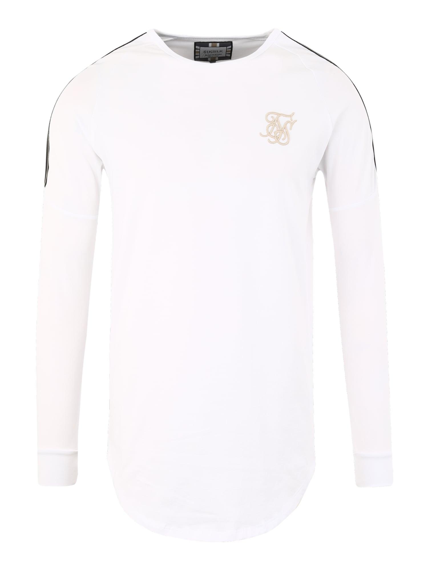 Tričko bílá SikSilk