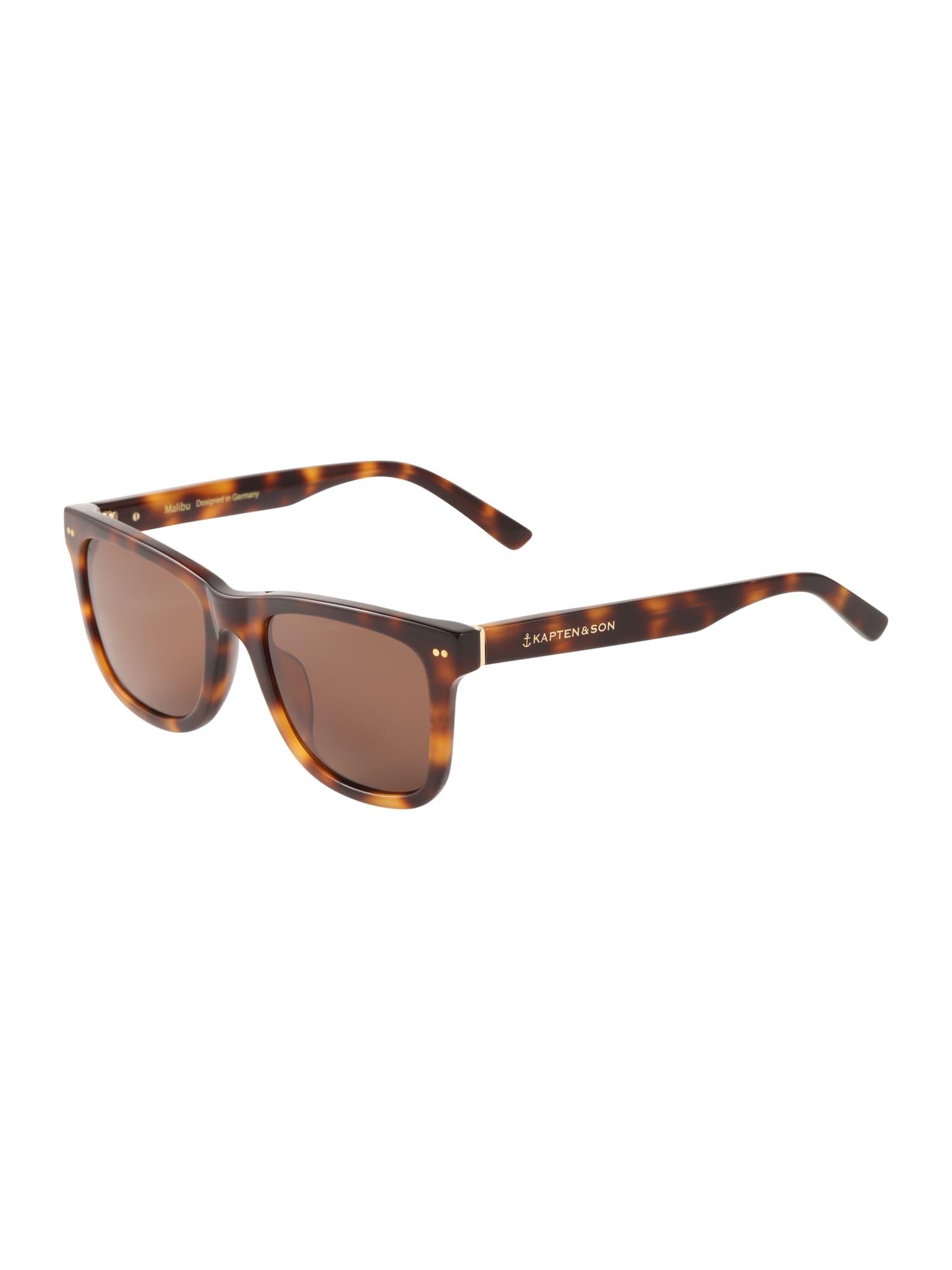 Sluneční brýle Malibu hnědá Kapten & Son
