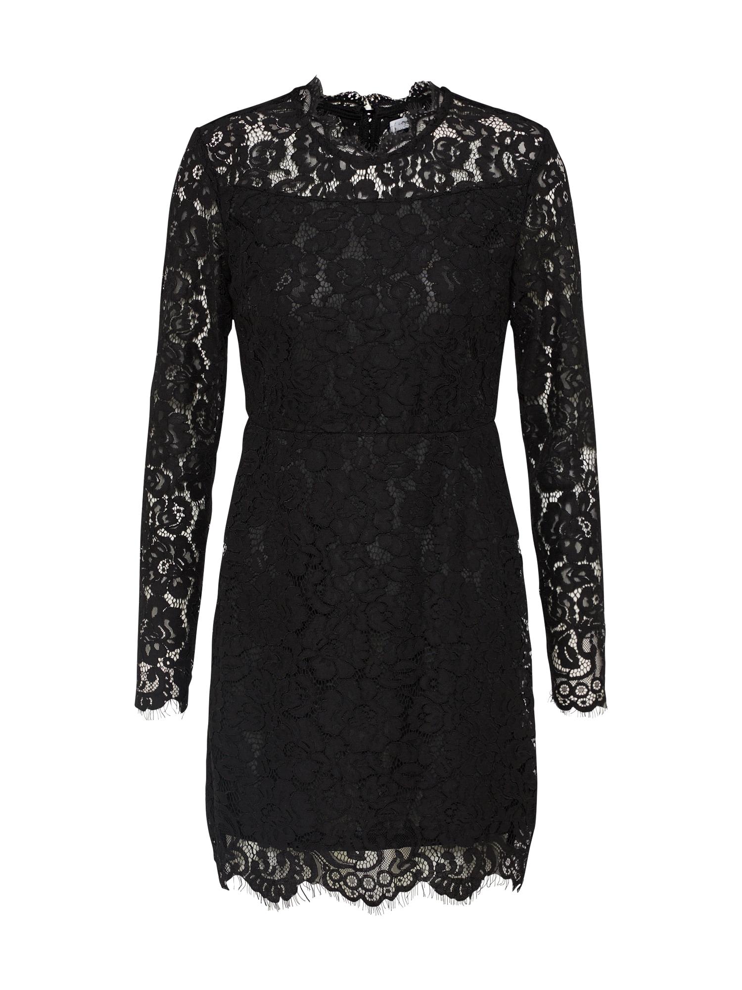 Koktejlové šaty černá Mel Ivy