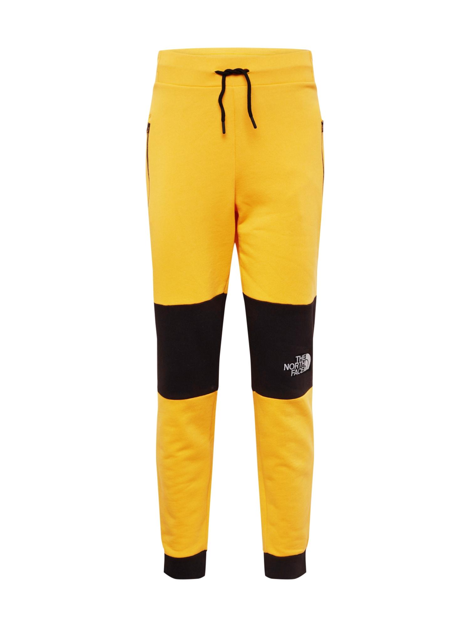 THE NORTH FACE Kalhoty 'Men's Himalayan Pant'  žlutá / černá