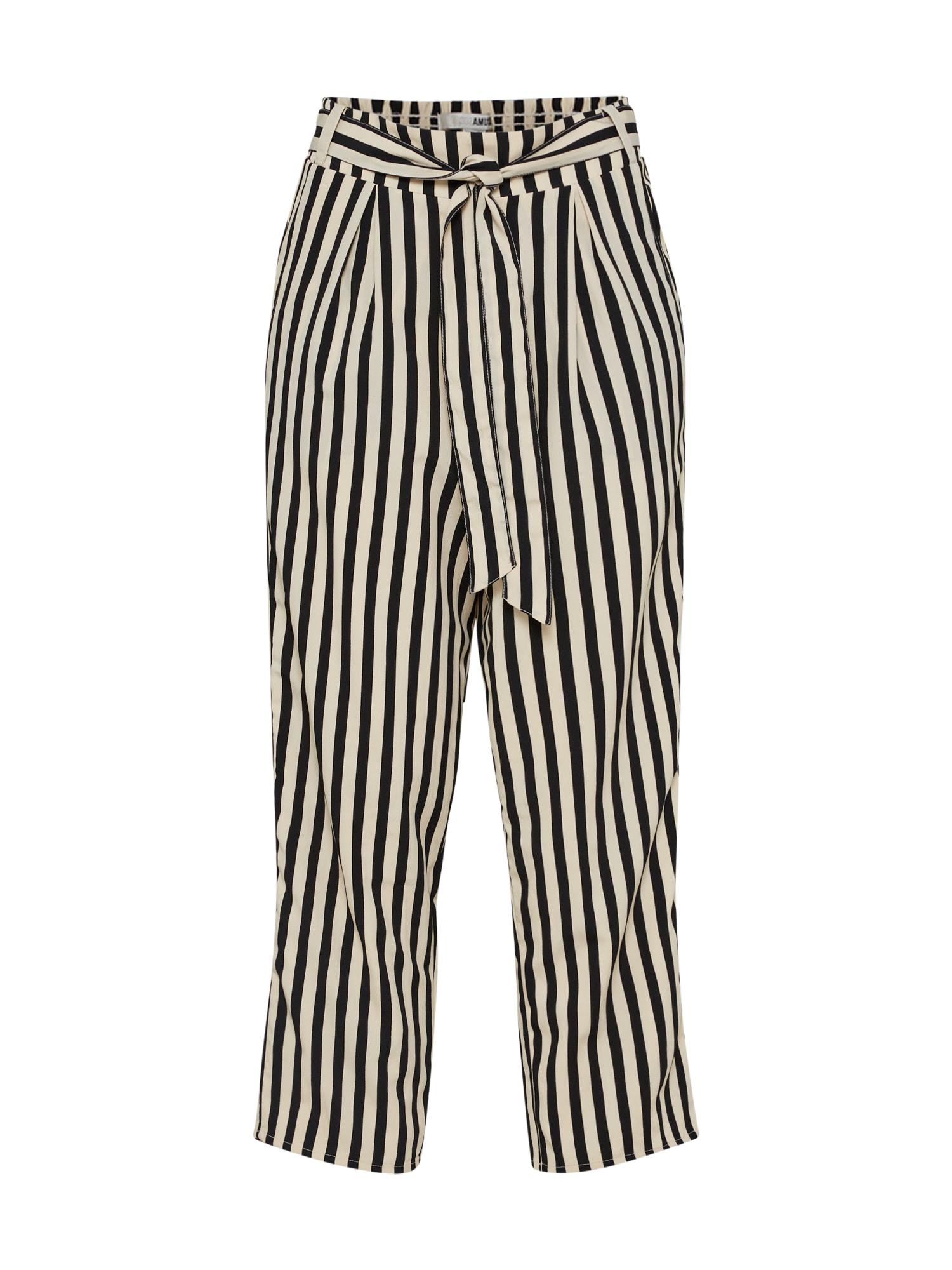 Kalhoty NIGHTOUT  písková černá Amuse Society