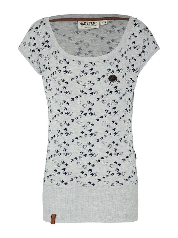 Naketano T-Shirt ´Wolle will Vögel VIII´ jetztbilligerkaufen