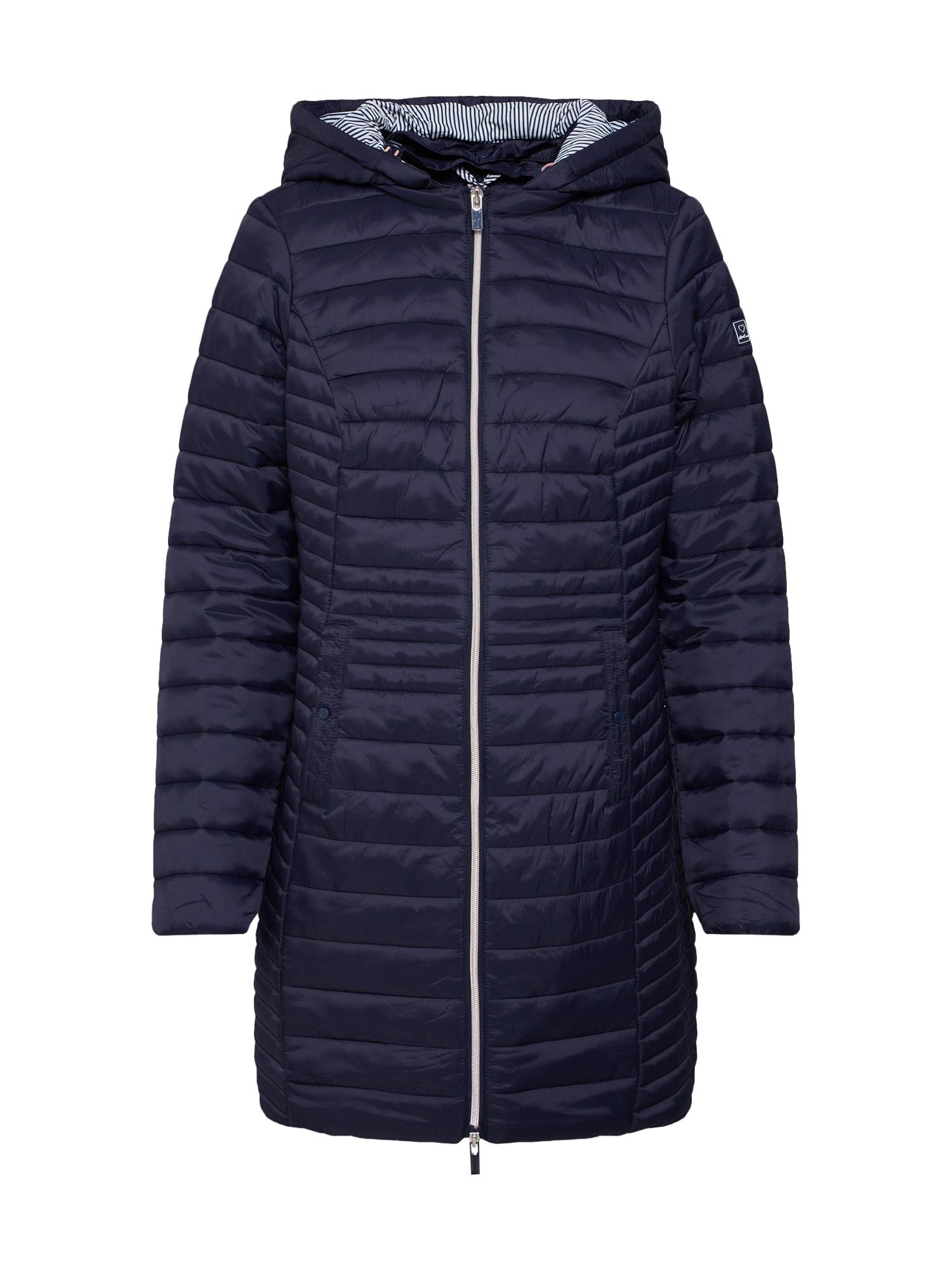 Zimní kabát tmavě modrá STREET ONE
