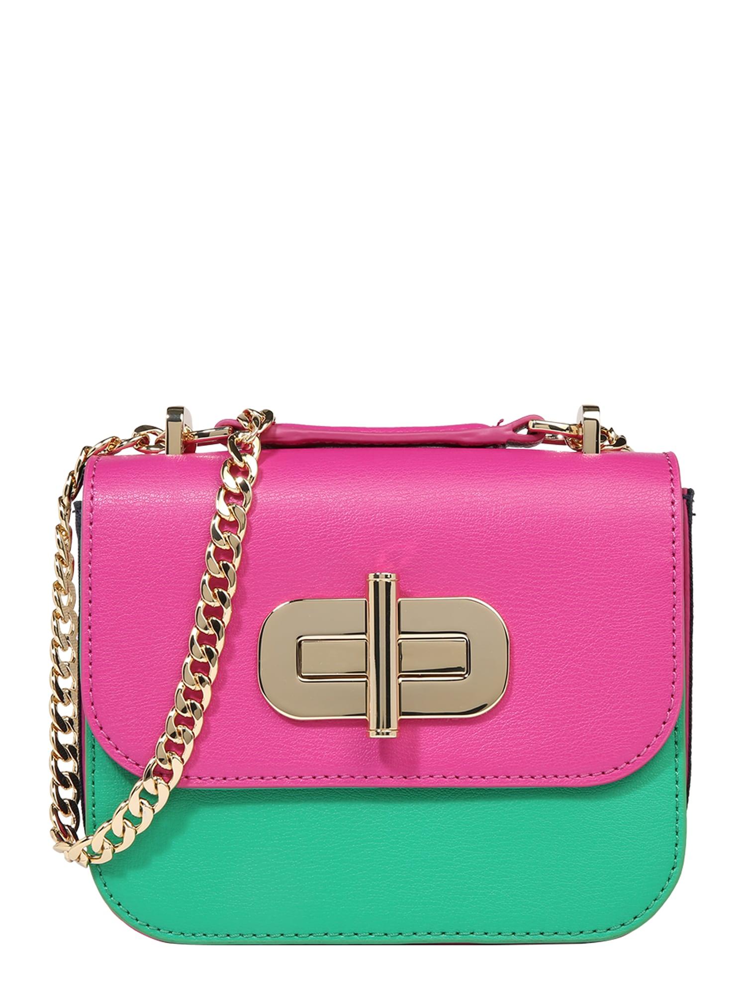 Taška přes rameno zelená pink TOMMY HILFIGER