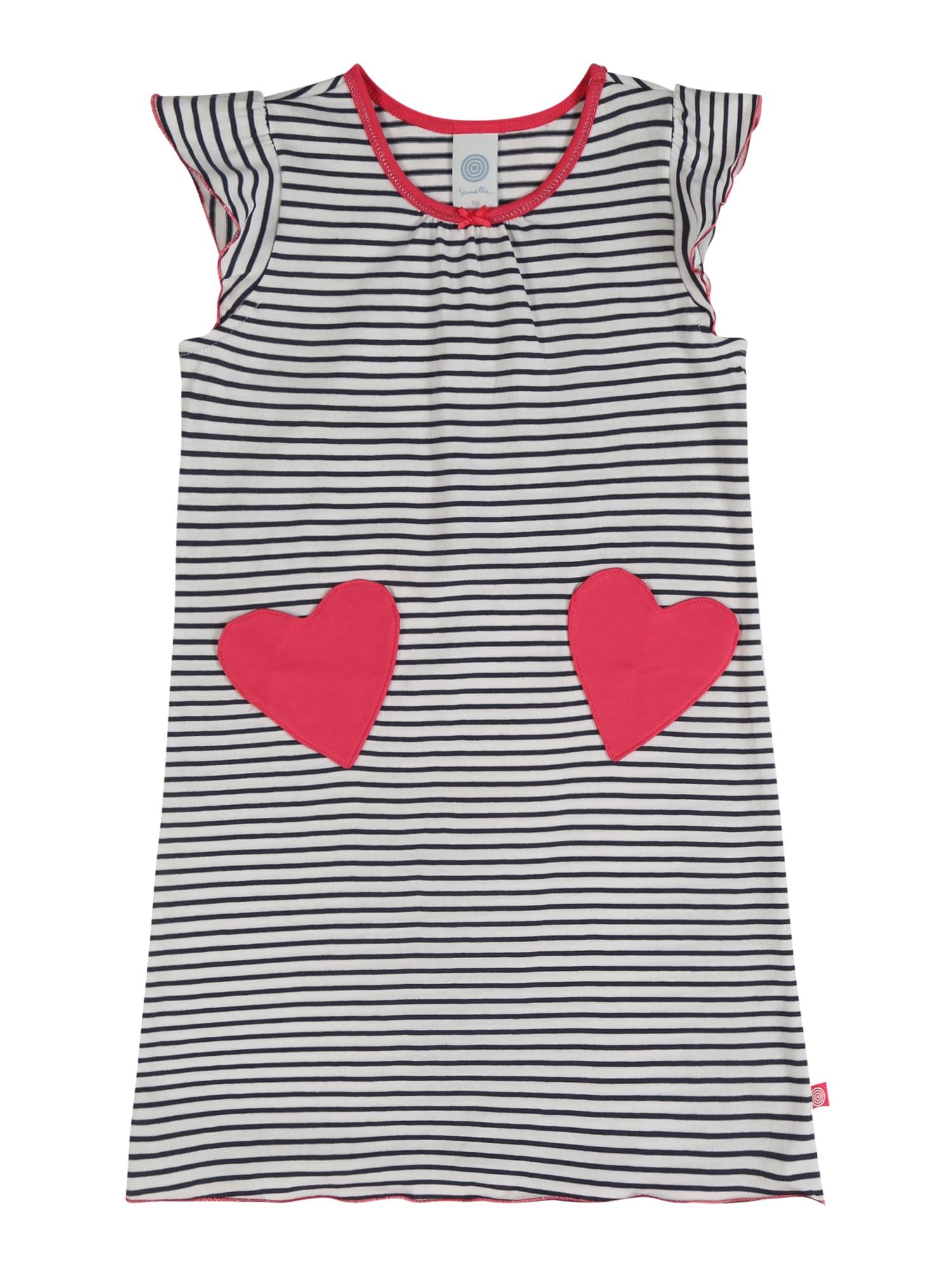 SANETTA Koszula nocna  niebieski / czerwony / biały
