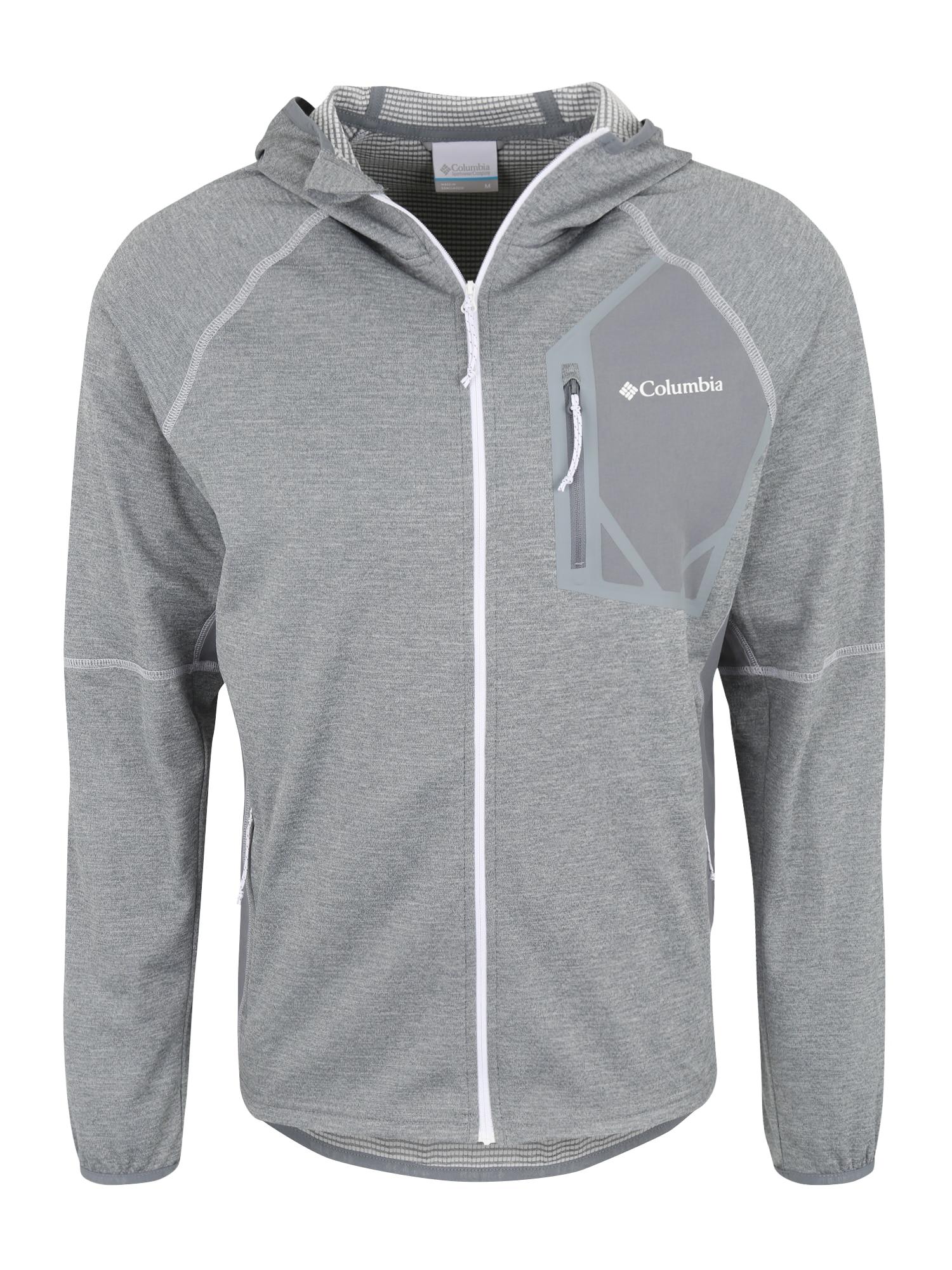Sportovní bunda Triple Canyon šedý melír COLUMBIA
