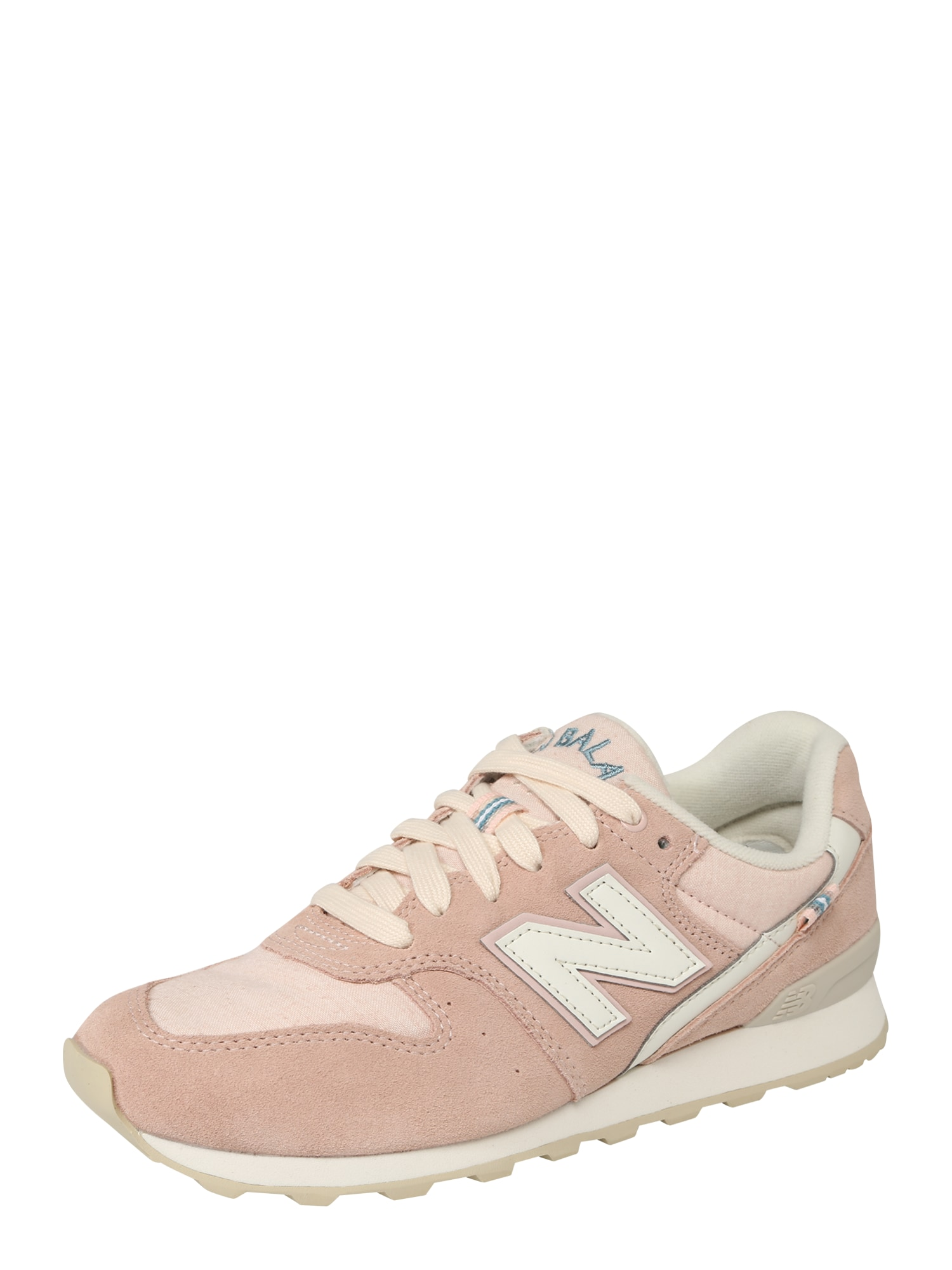 New Balance, Dames Sneakers laag '996', blauw / rosa / wit